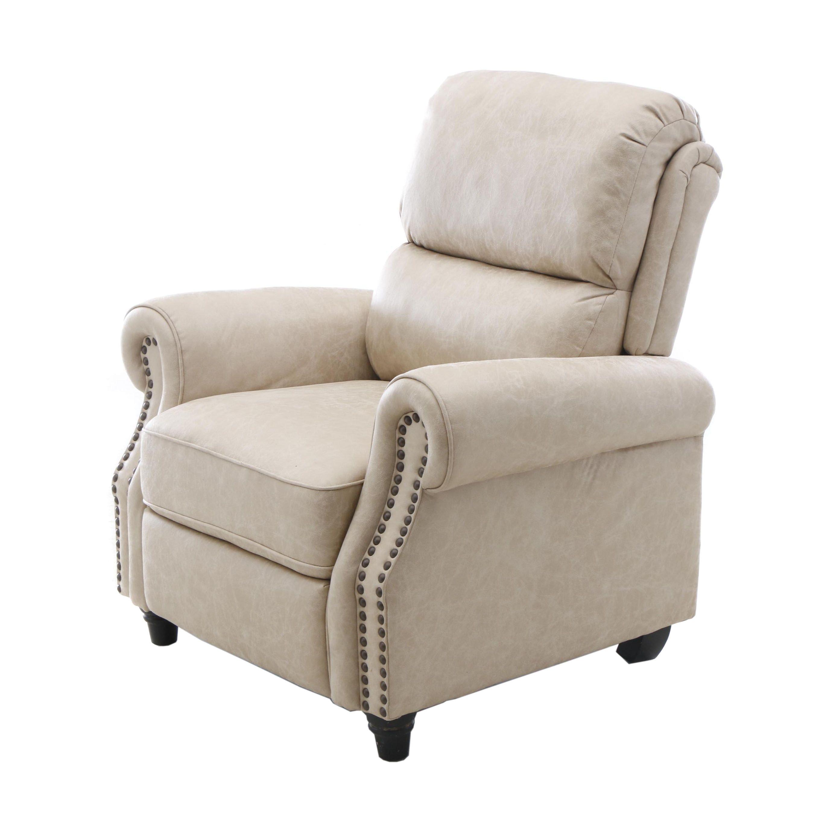Handy Living Upholstered Recliner