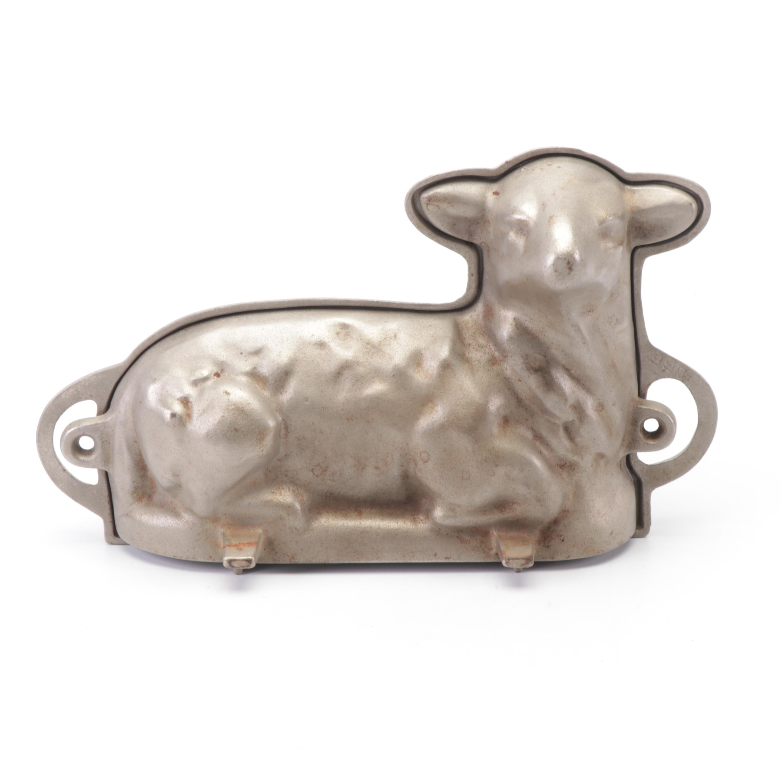 Griswold Cast Iron Lamb Cake Mold