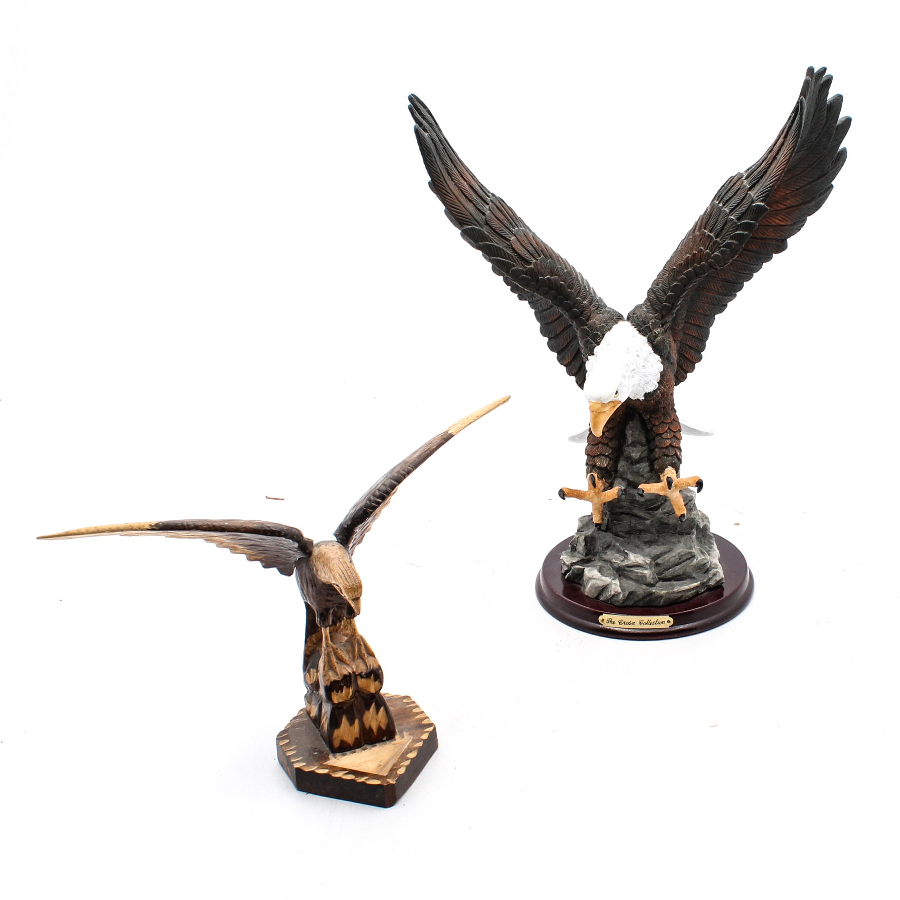 Bald Eagle Sculptures Featuring The Crosa Collection