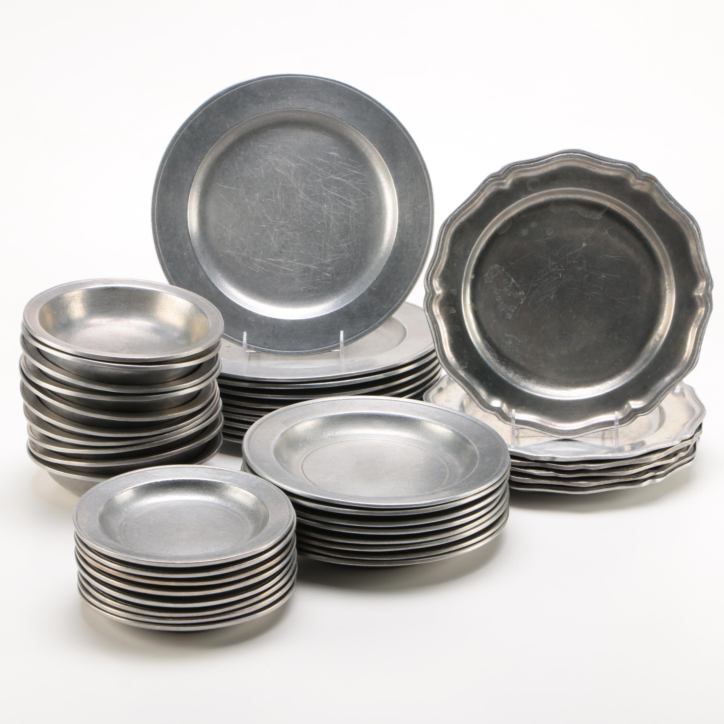 Wilton Armetale Metal Dinnerware