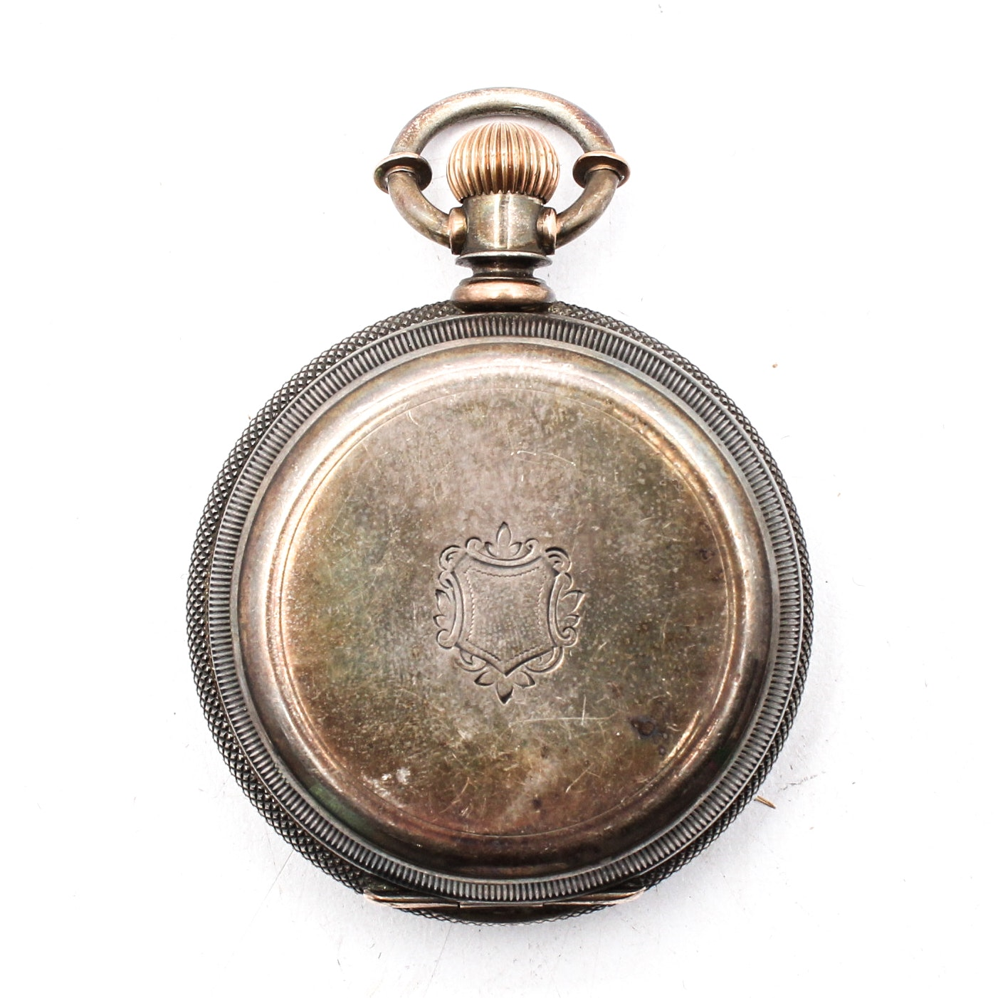 American Watch Company 1877 Sterling Silver Pocket Watch