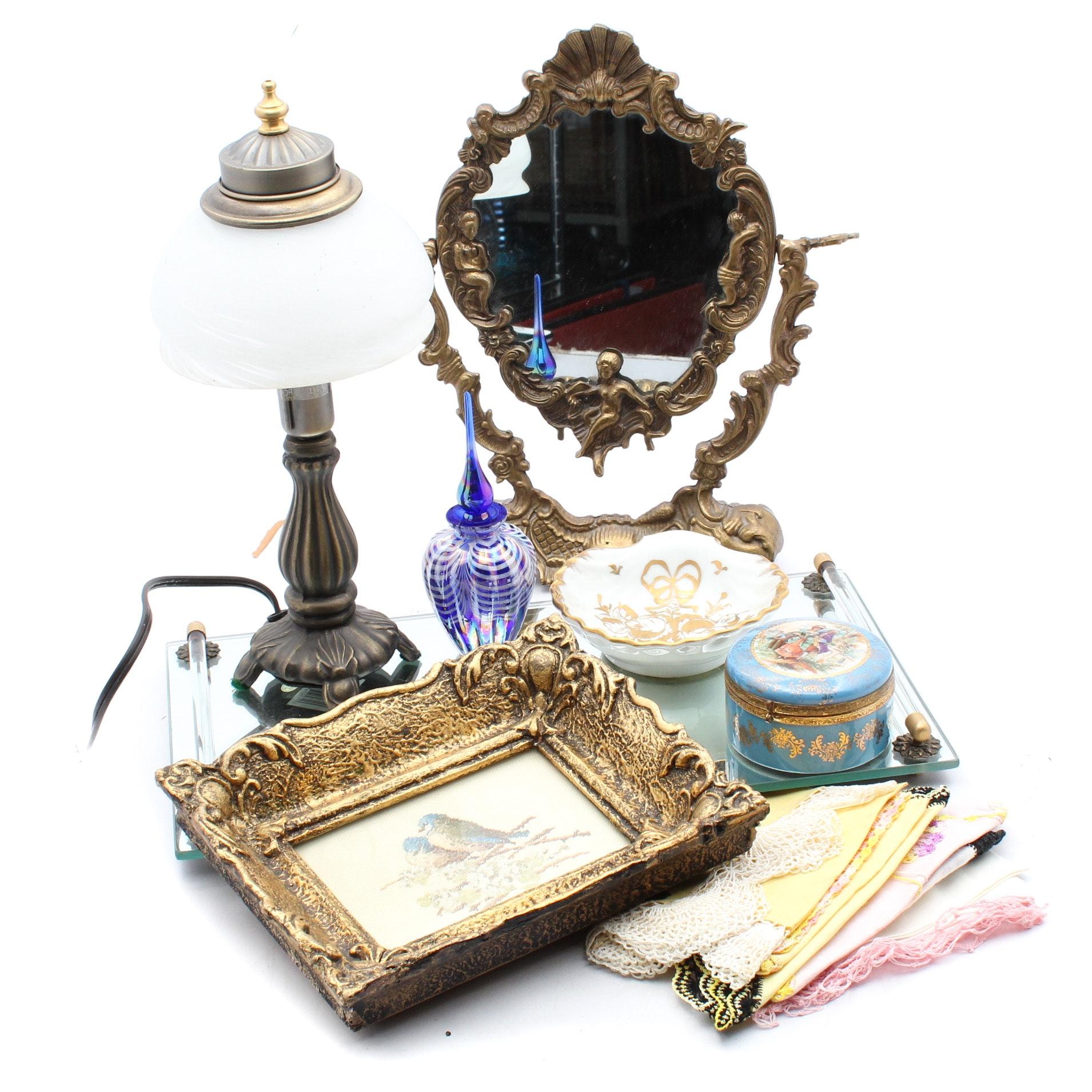 Vintage Vanity Decor