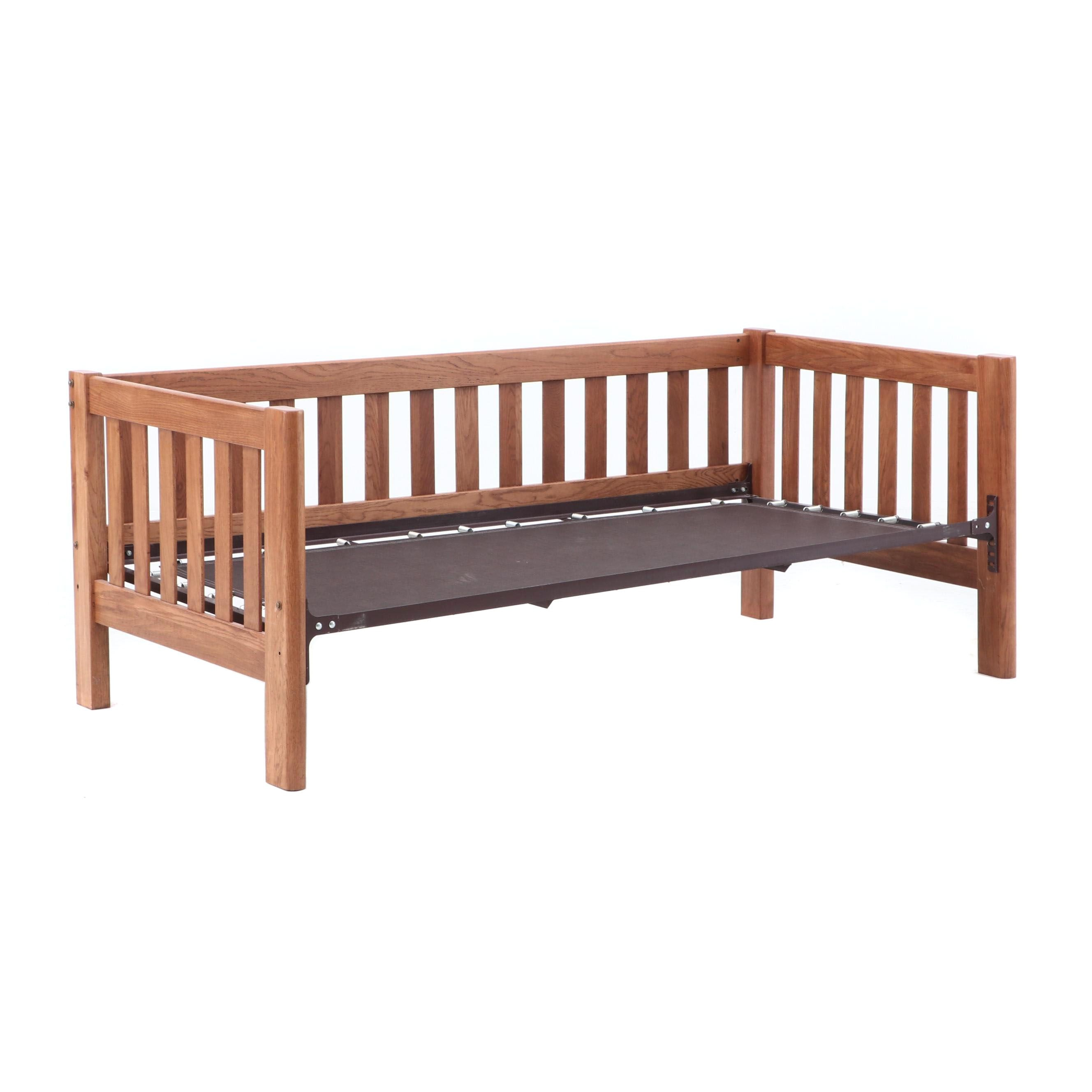 Mission Style Oak Day Bed