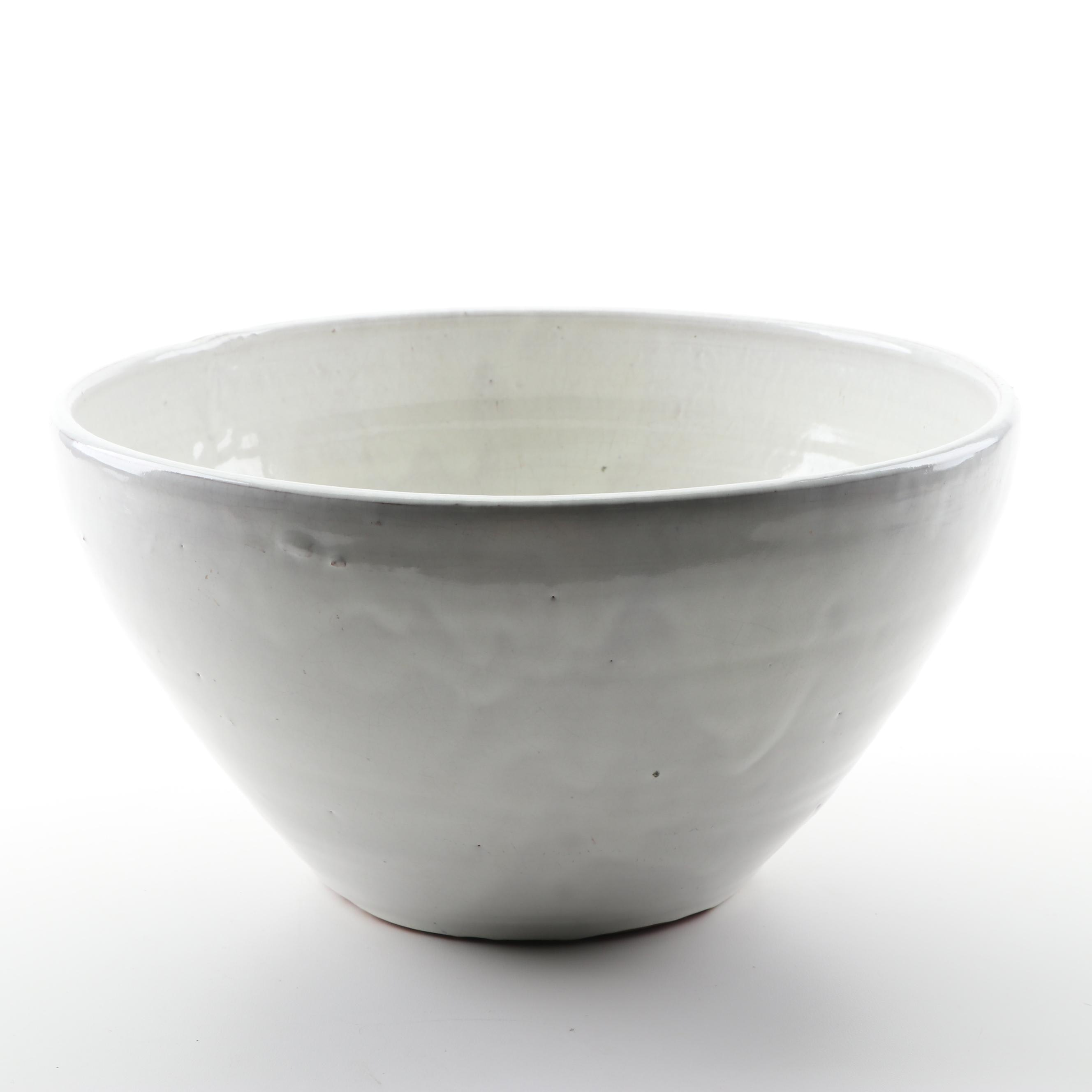 A. R. Cole North Carolina Slip Glazed Earthenware Bowl, circa 1930