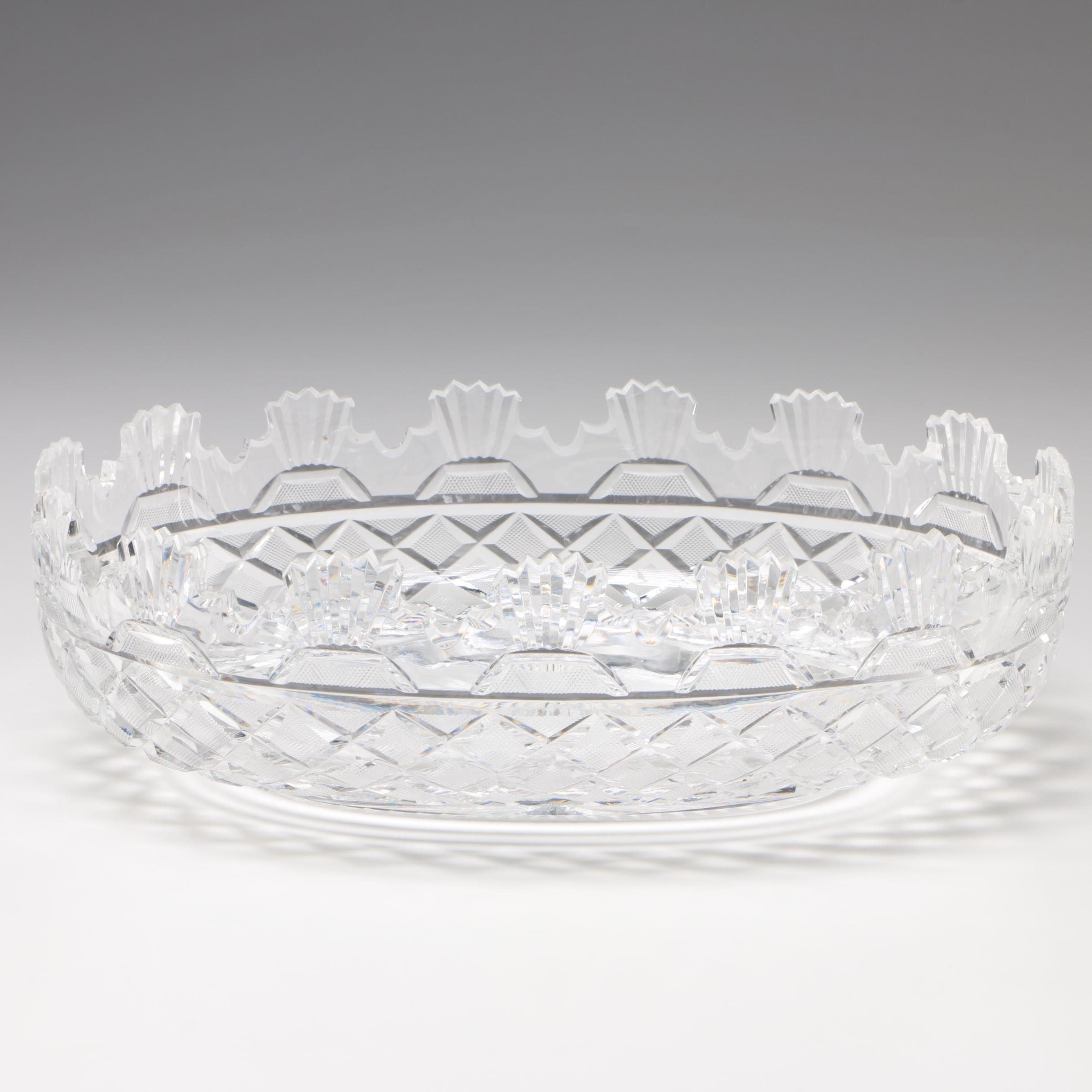 "Waterford Crystal Prestige Collection ""Kennedy"" Bowl"