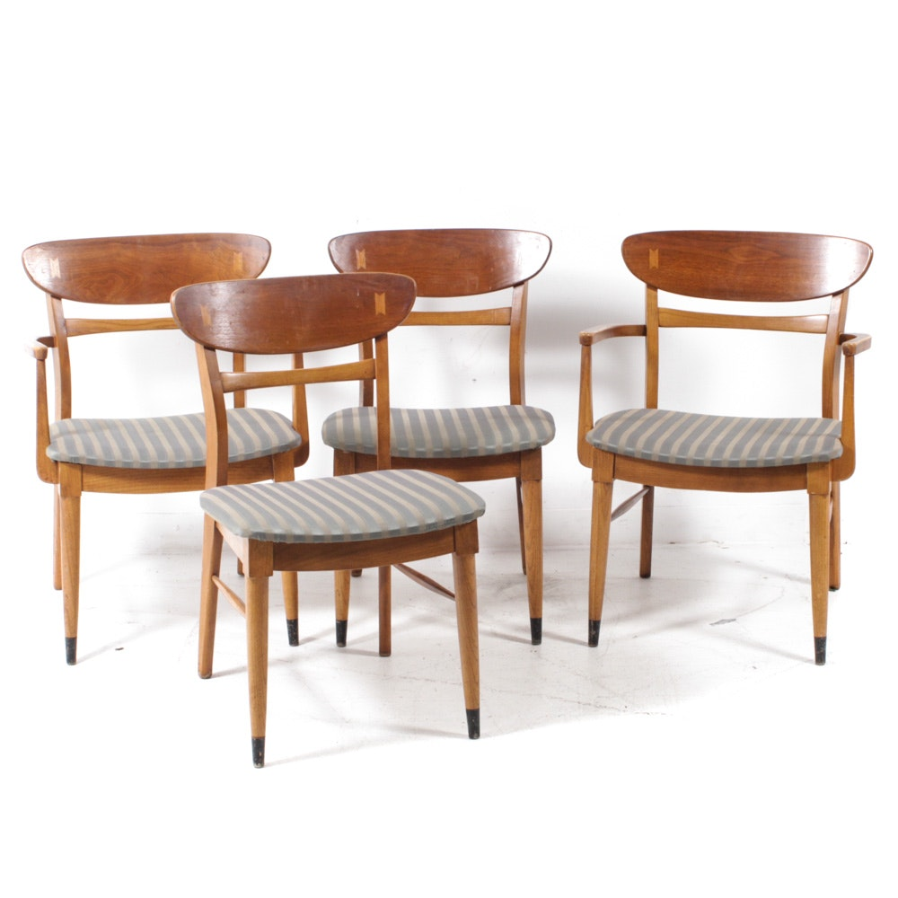 Lane Acclaim Mid-Century Modern Armchairs and Side Chairs