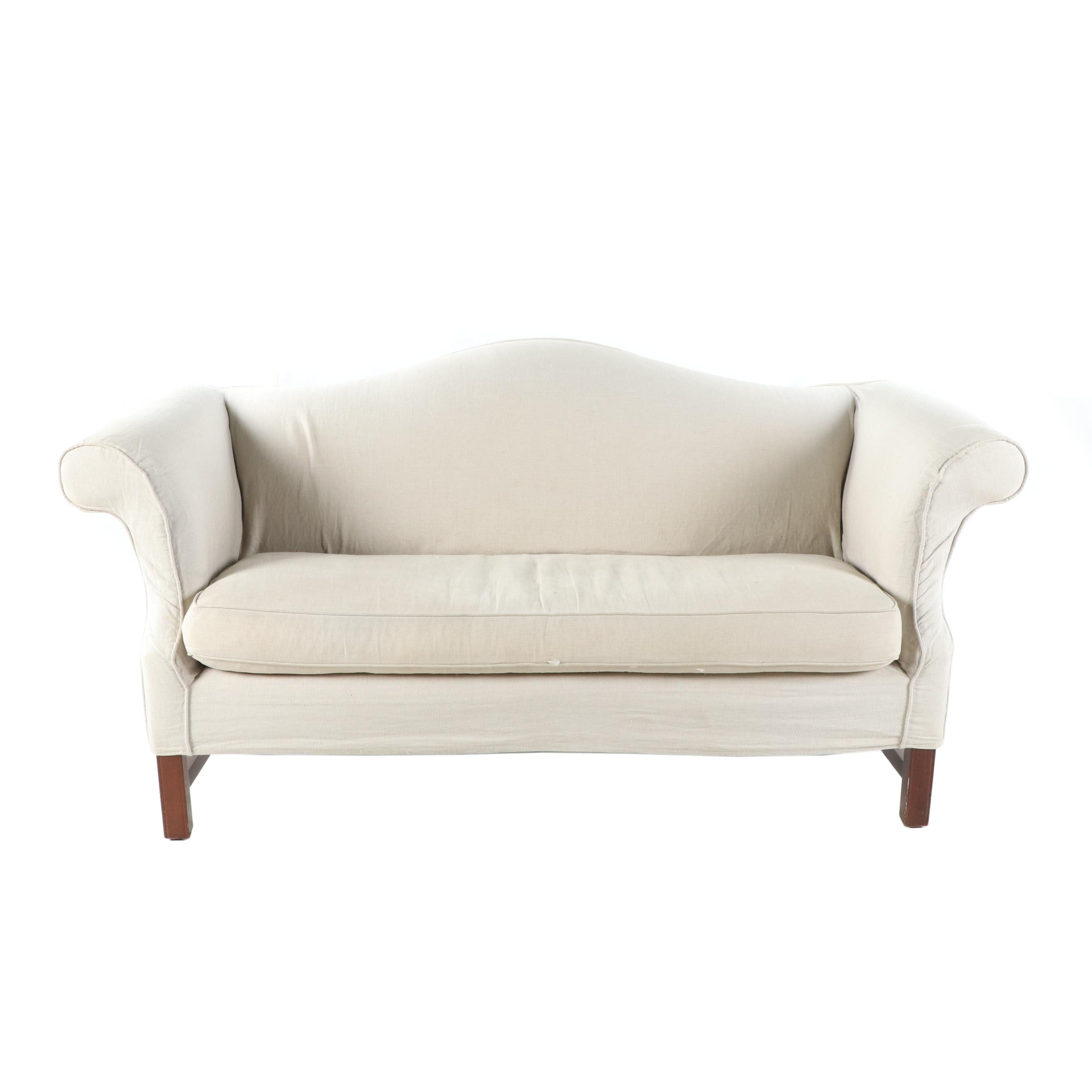 Camelback Sofa with Slipcover by Mitchell Gold + Bob Williams, 21st Century