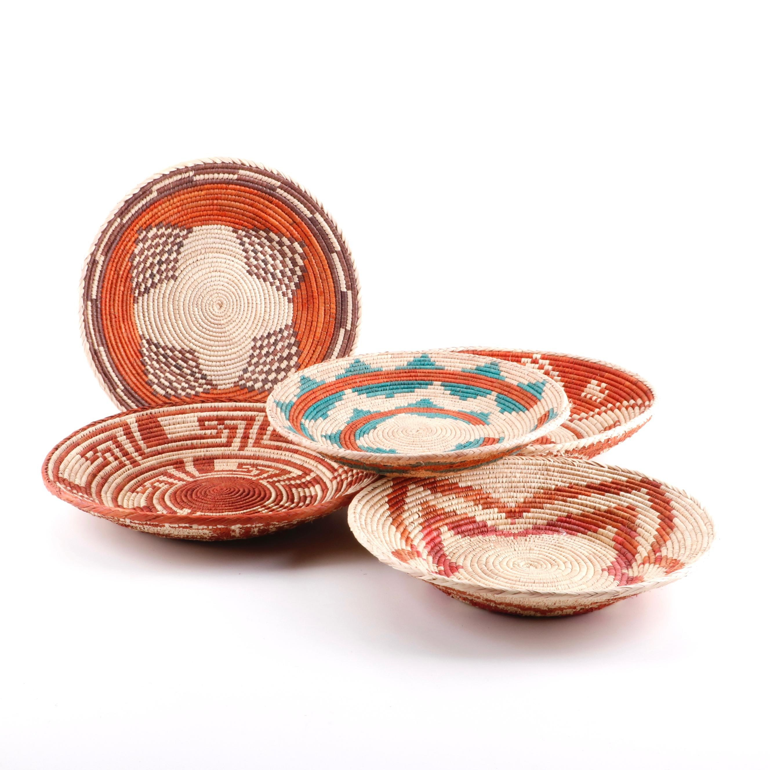 East African Style Handwoven Baskets