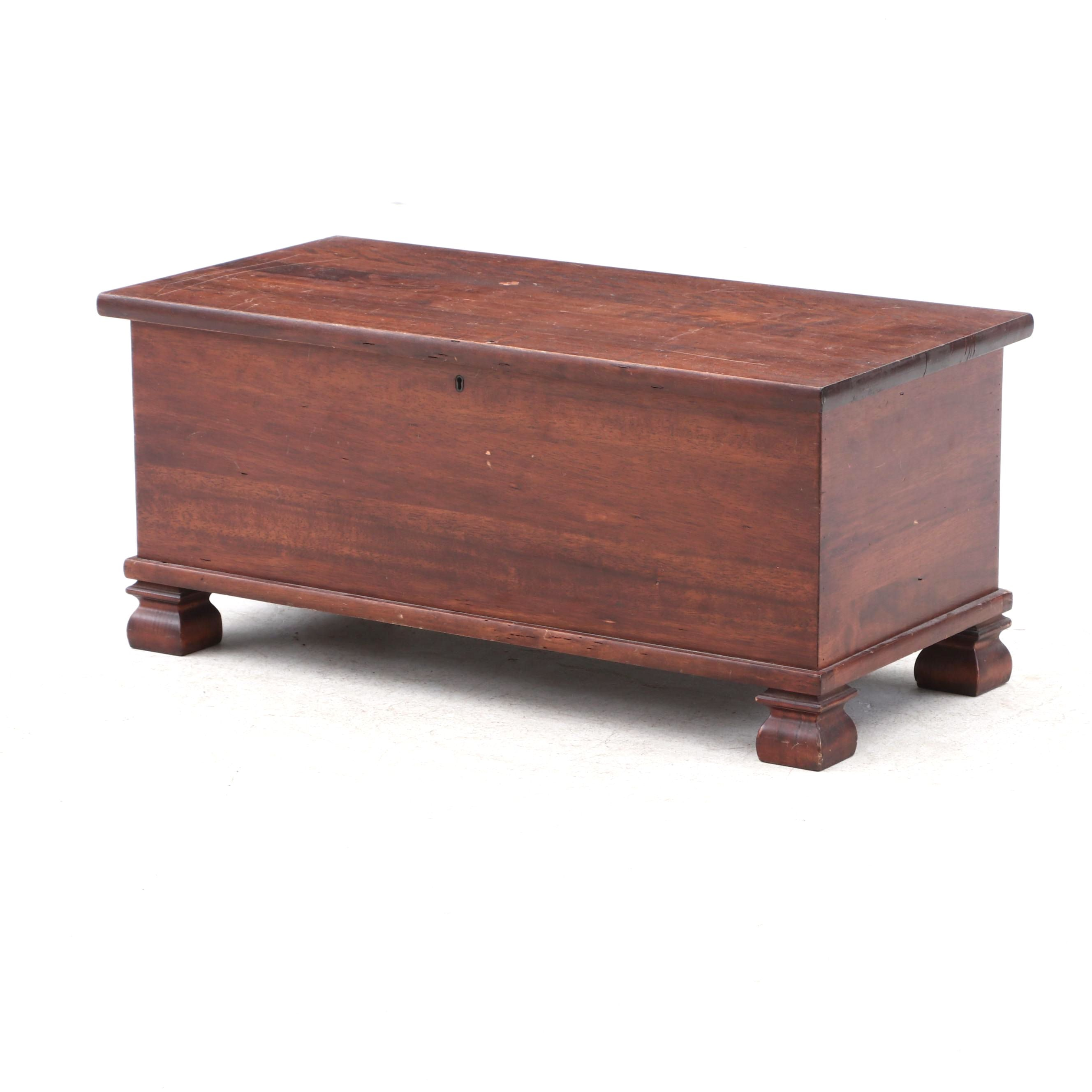 Colonial Style Pine Blanket Chest