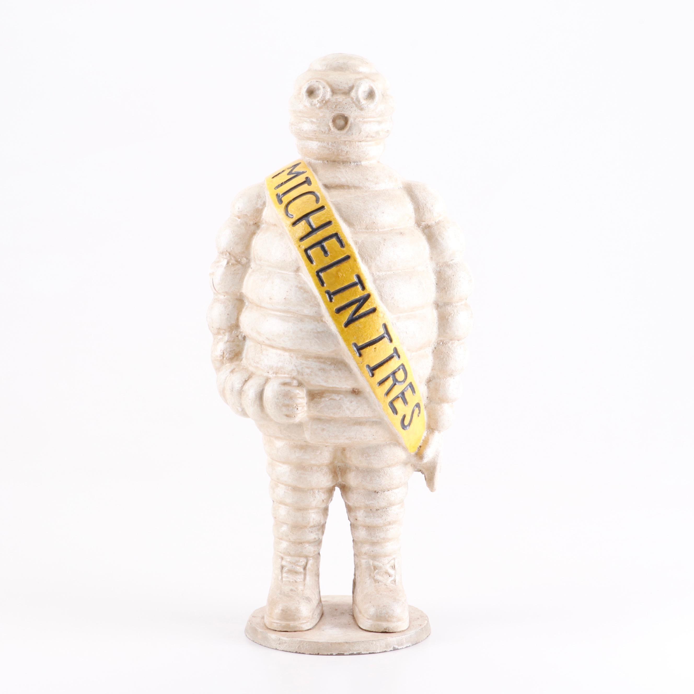 Cast Iron Reproduction Michelin Man Bibendum