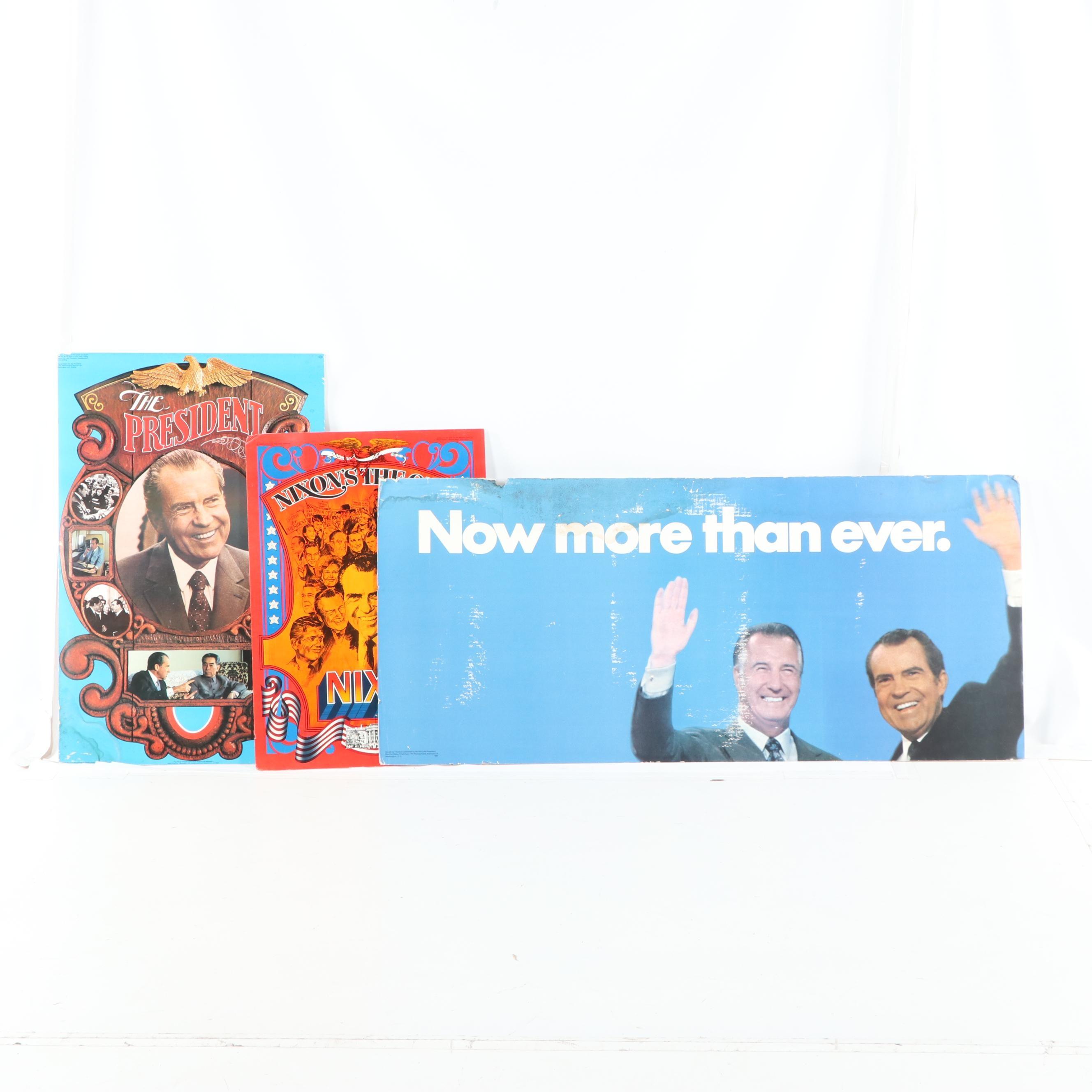 Richard Nixon Political Posters