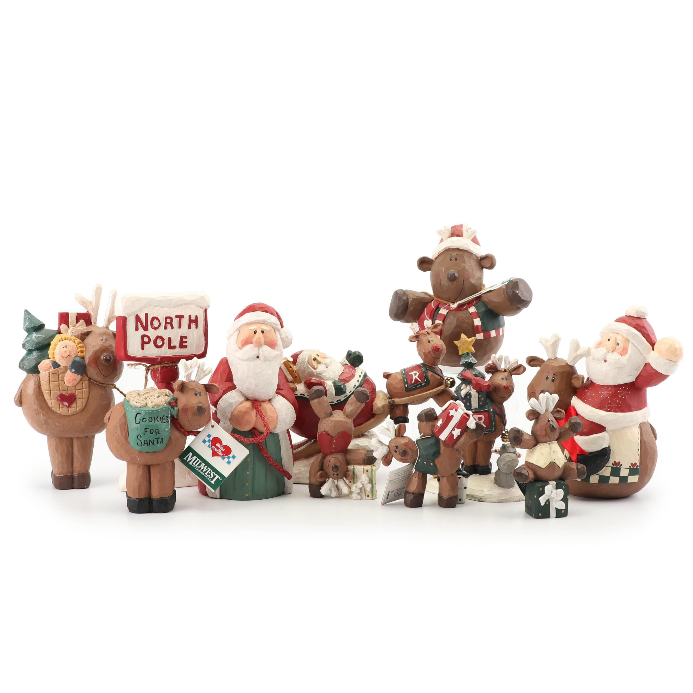 Reindeer Themed Christmas Decor