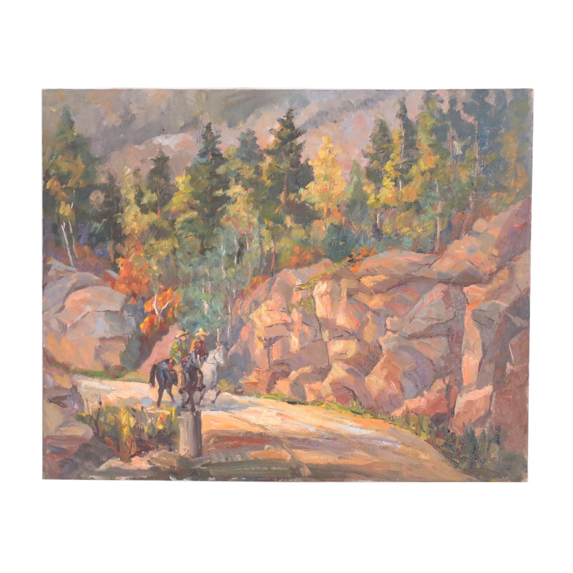 Judge Edward J. Hummer Oil Painting