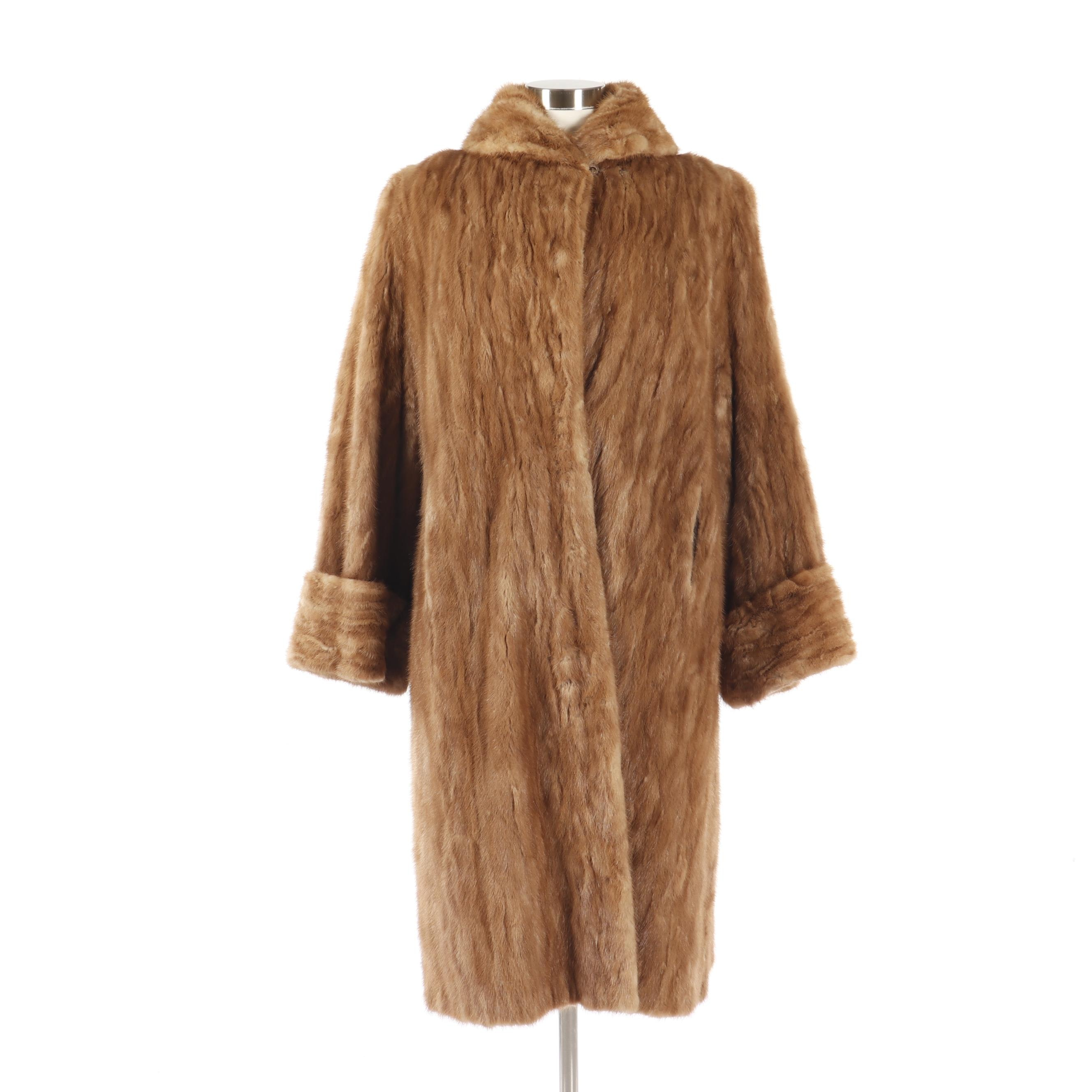 Women's Vintage Victoria Fur Salon Mink Fur Coat