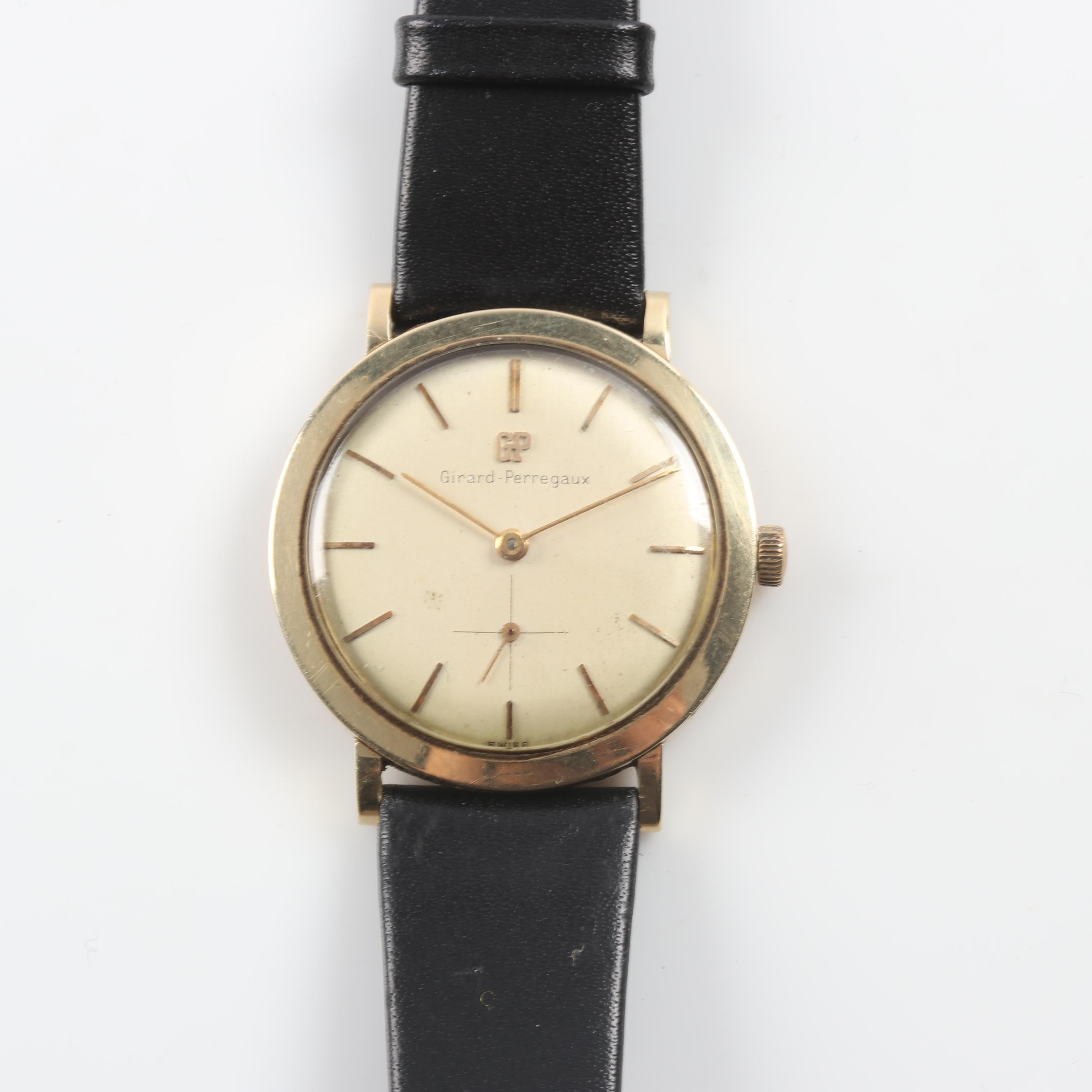 14K Yellow Gold Girard Perregaux Watch