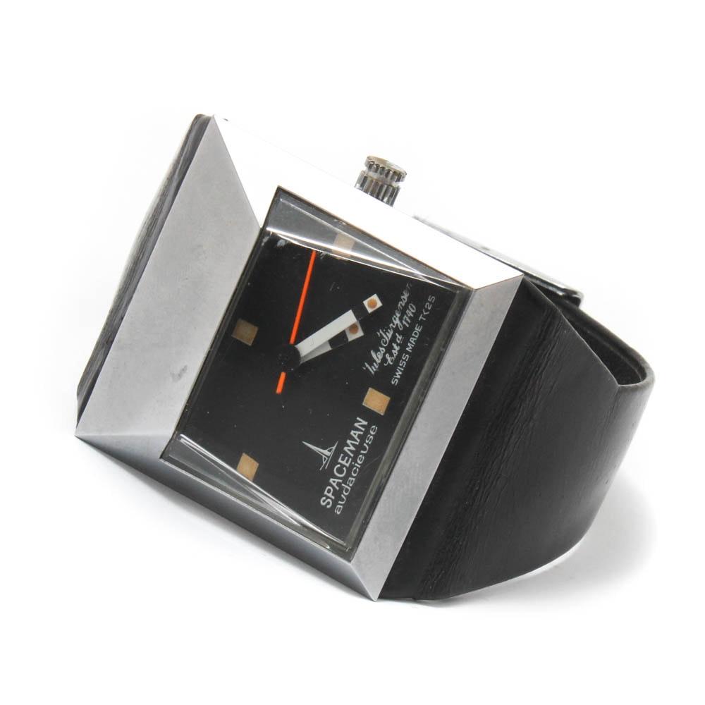 """Vintage Jules Jurgensen """"Spaceman"""" Wristwatch, Circa 1970s"""