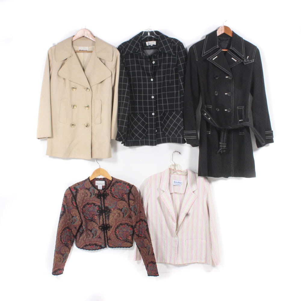 Women's Jackets Featuring Susan Bennett and Saks Fifth Avenue