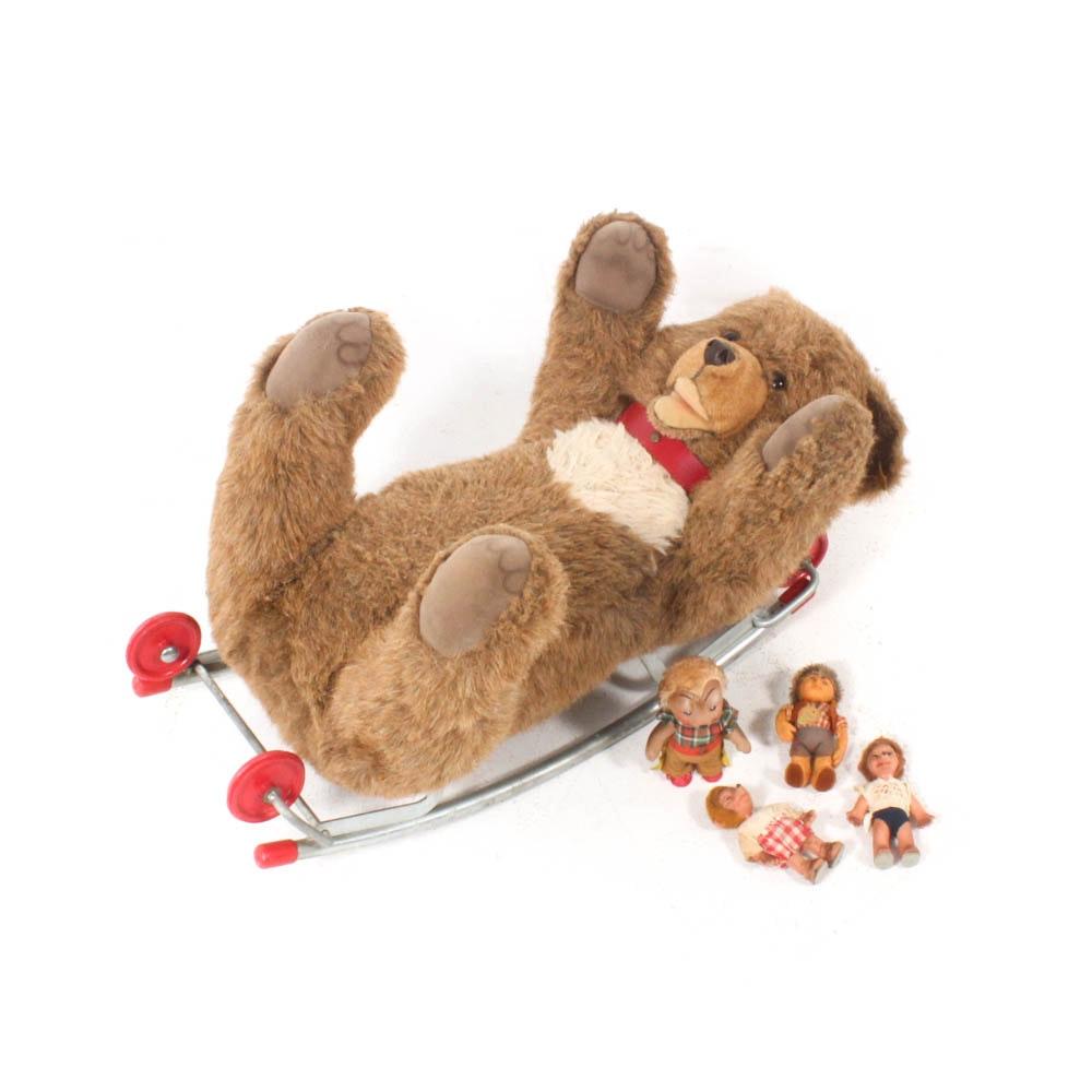 Steiff Animals and Figurines