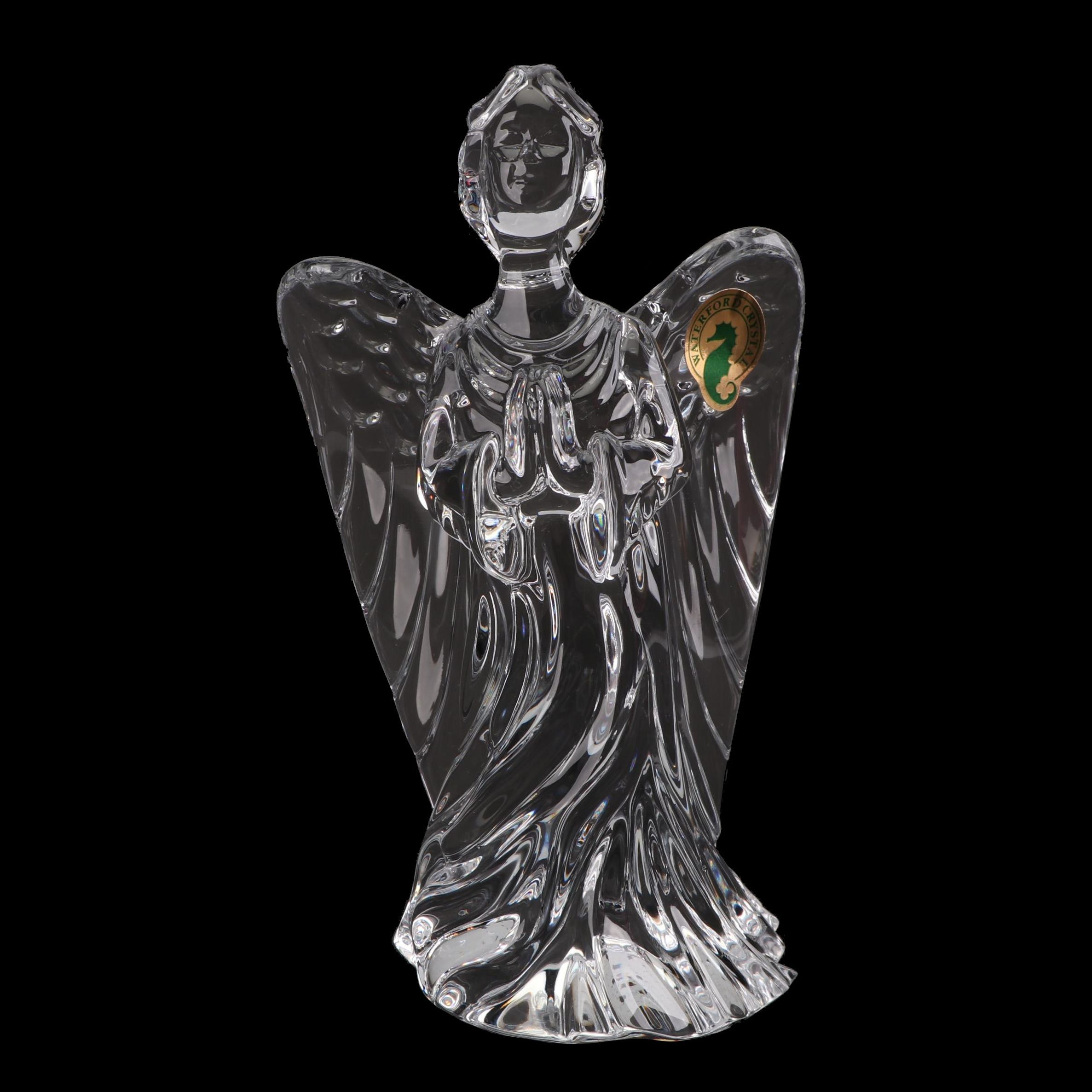 "Waterford Crystal ""Guardian Angel"" Figurine"