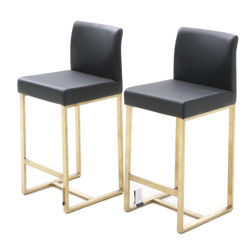Excellent Tov Furniture Upholstered Counter Height Bar Stools Gmtry Best Dining Table And Chair Ideas Images Gmtryco