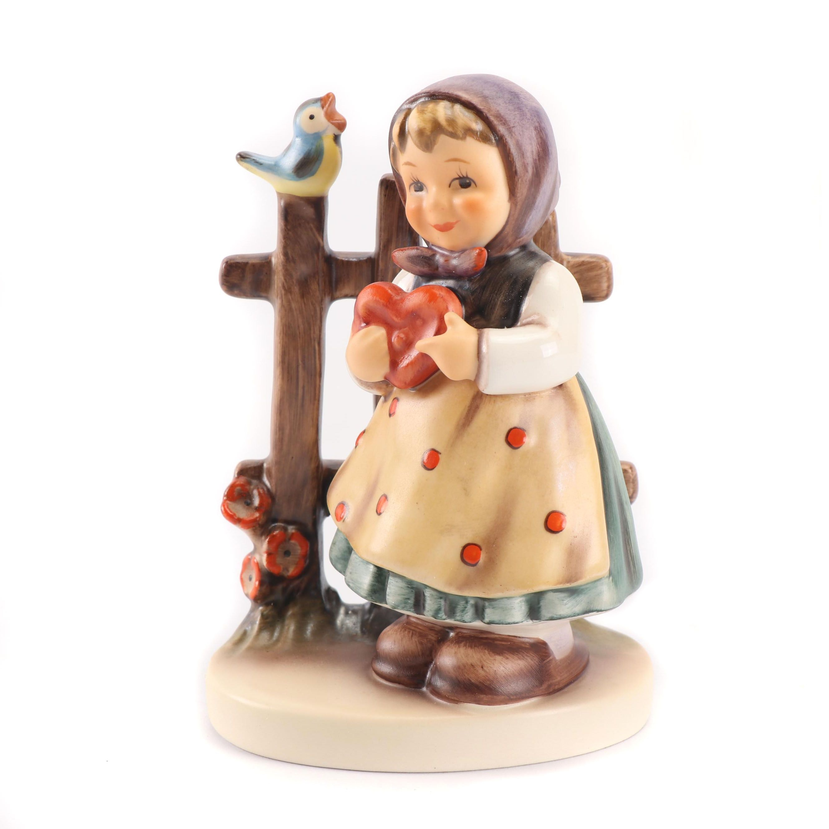 "Goebel Porcelain Hummel Figurine ""Sweet Greetings"""