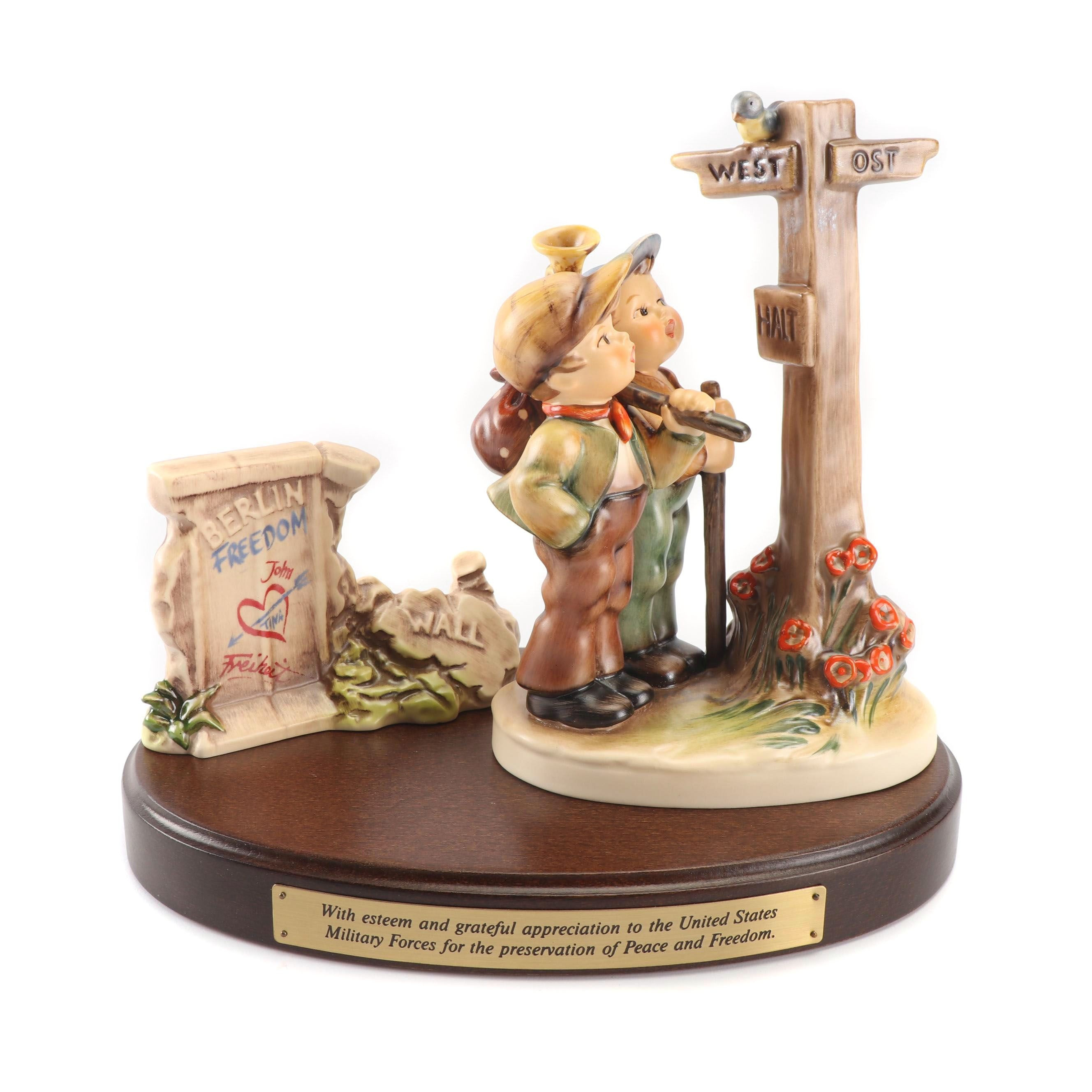 "Goebel Hummel Freedom Edition ""Crossroads"" Figurine Set"