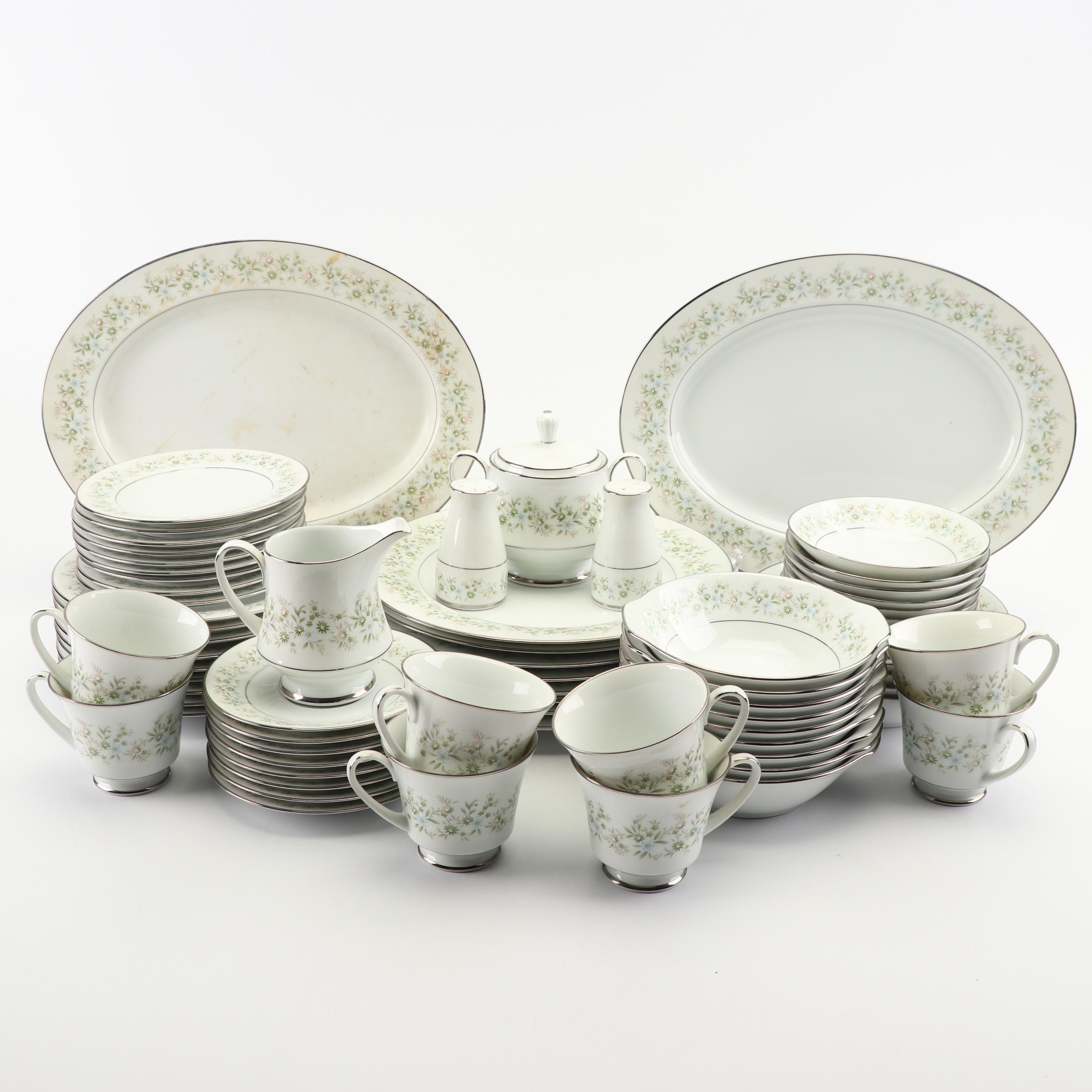 "Vintage Noritake ""Savannah"" Porcelain Dinnerware"
