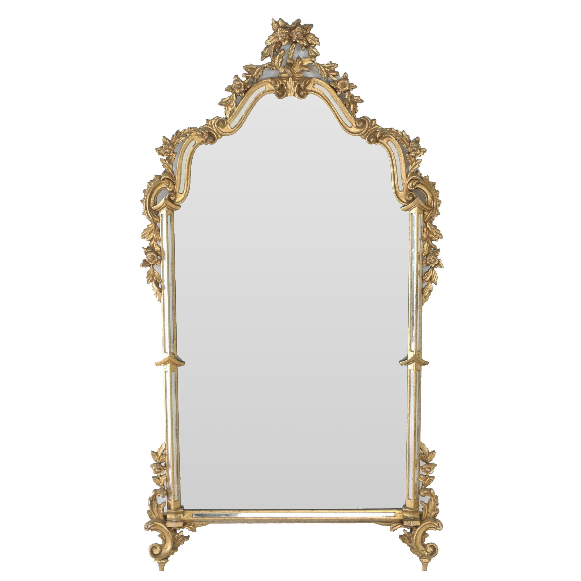 Italian Giltwood Mirror by La Barge, 20th Century