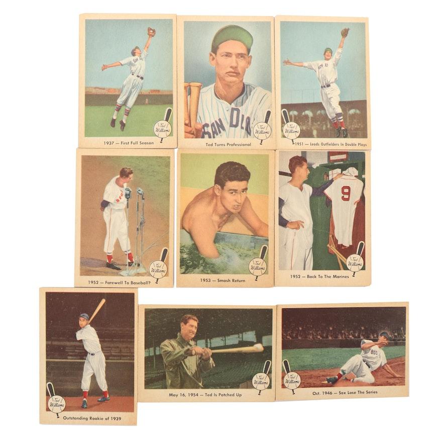 Fleer Ted Williams Baseball Cards 1959