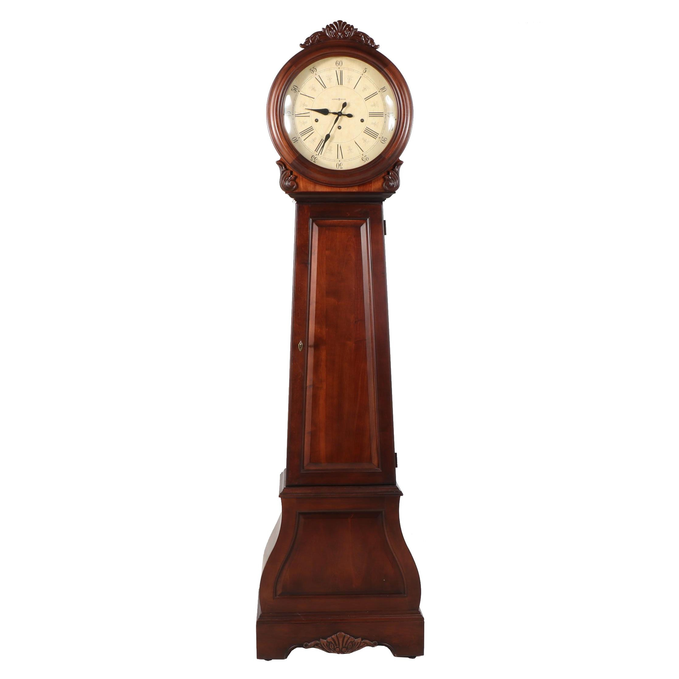 "Howard Miller ""La Rochelle"" Americana Cherry Grandfather Clock"
