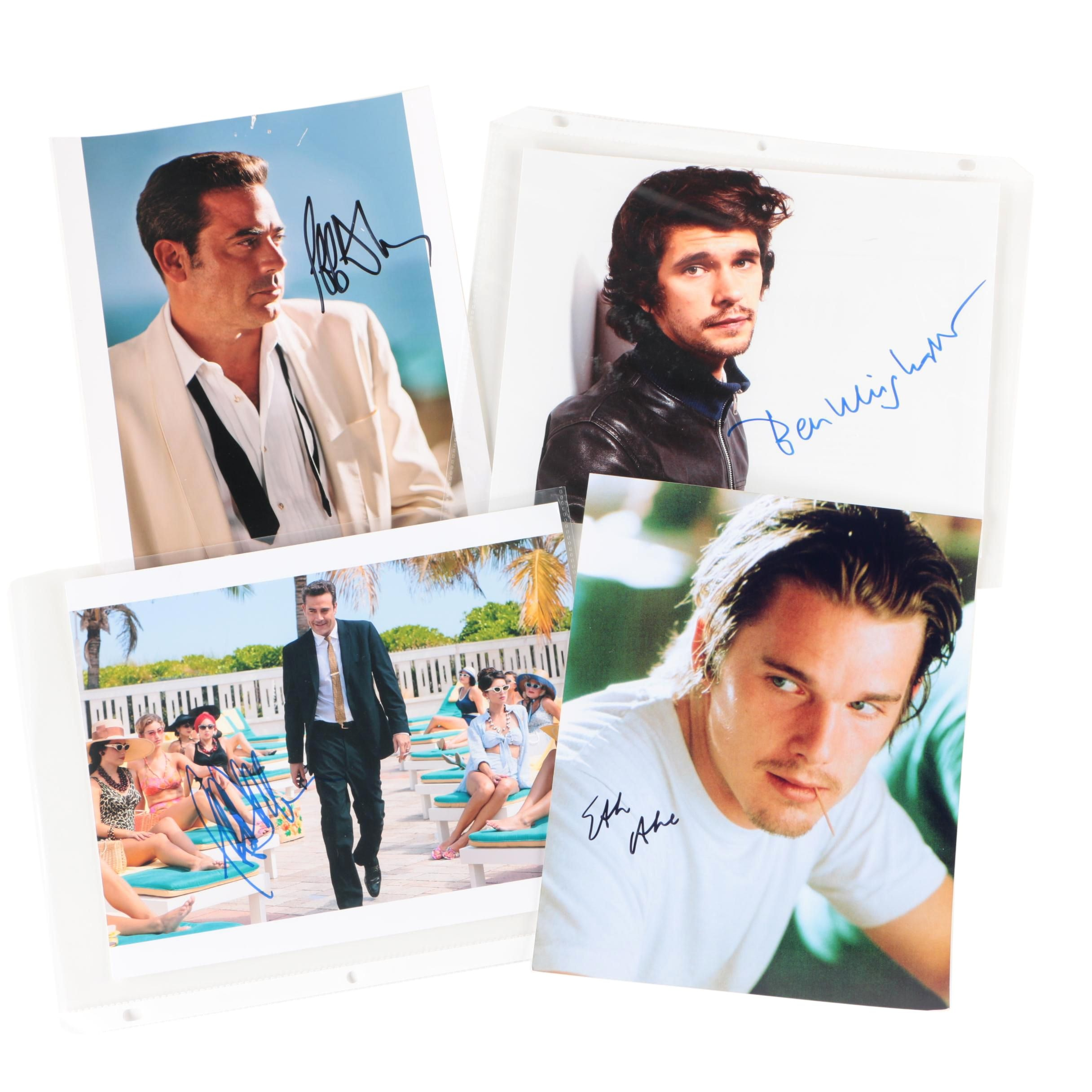 Celebrity Autographs Including Ethan Hawke and Jeffrey Dean Morgan