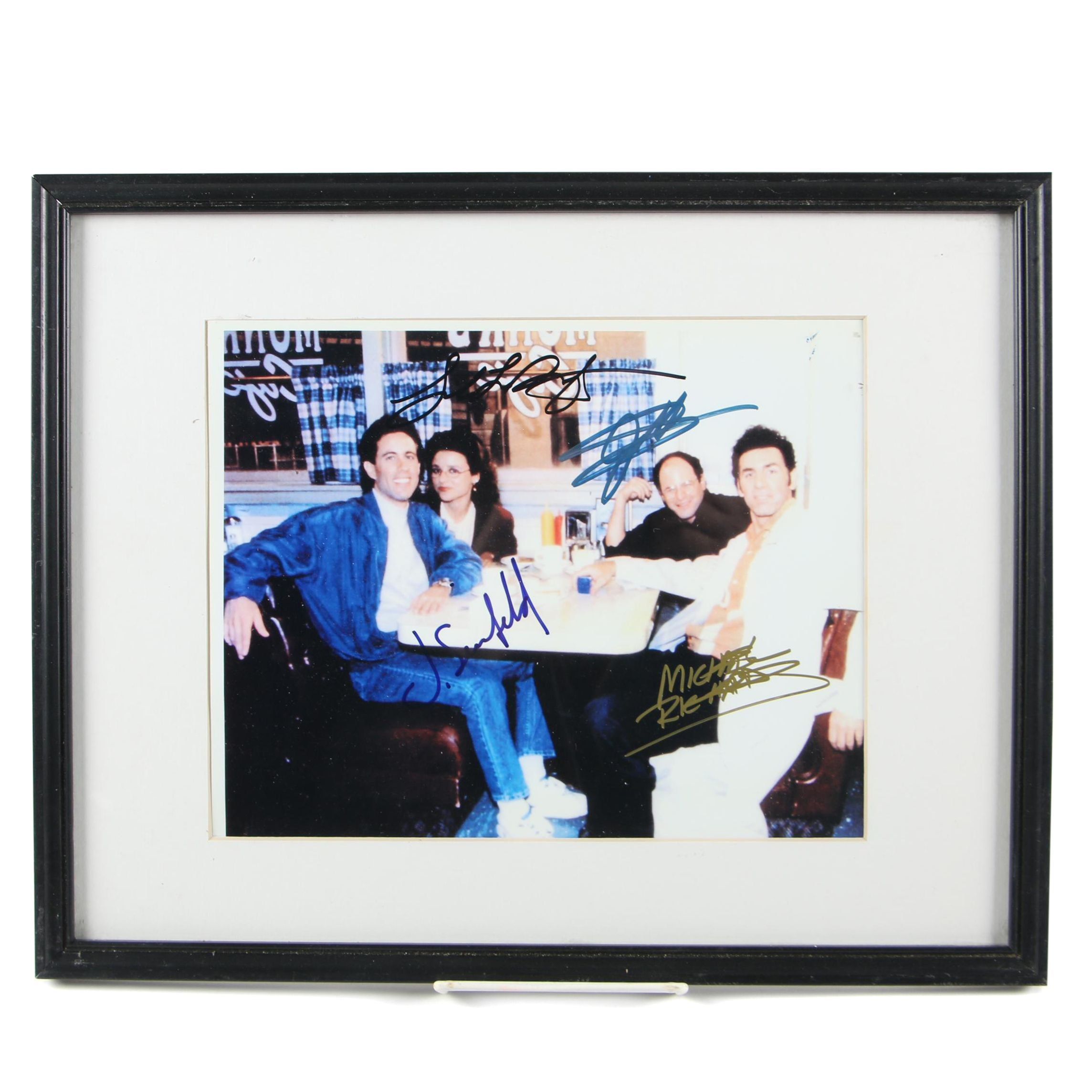 """""""Seinfeld"""" Autographed Cast Framed Photo"""