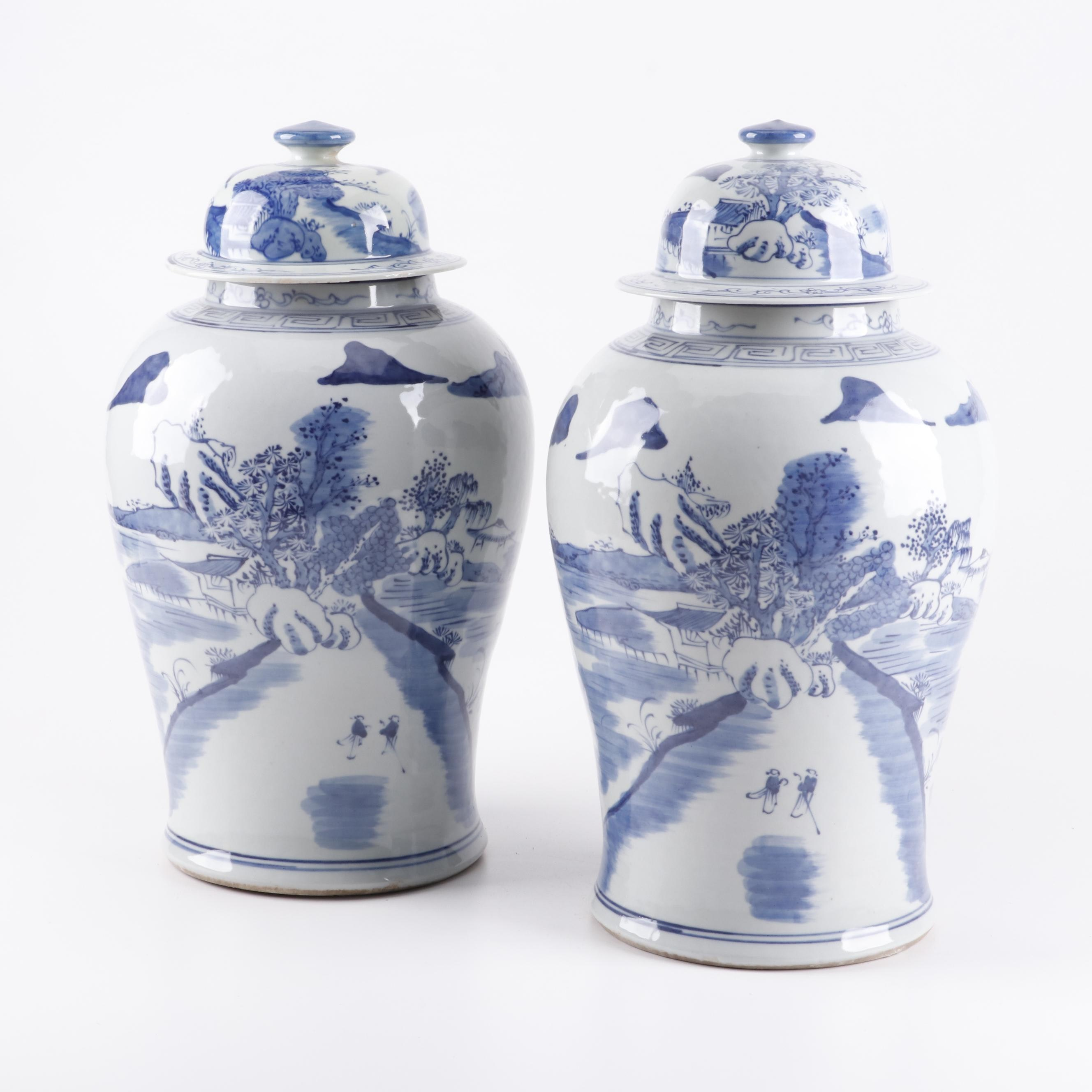 Chinese Ceramic Ginger Jars