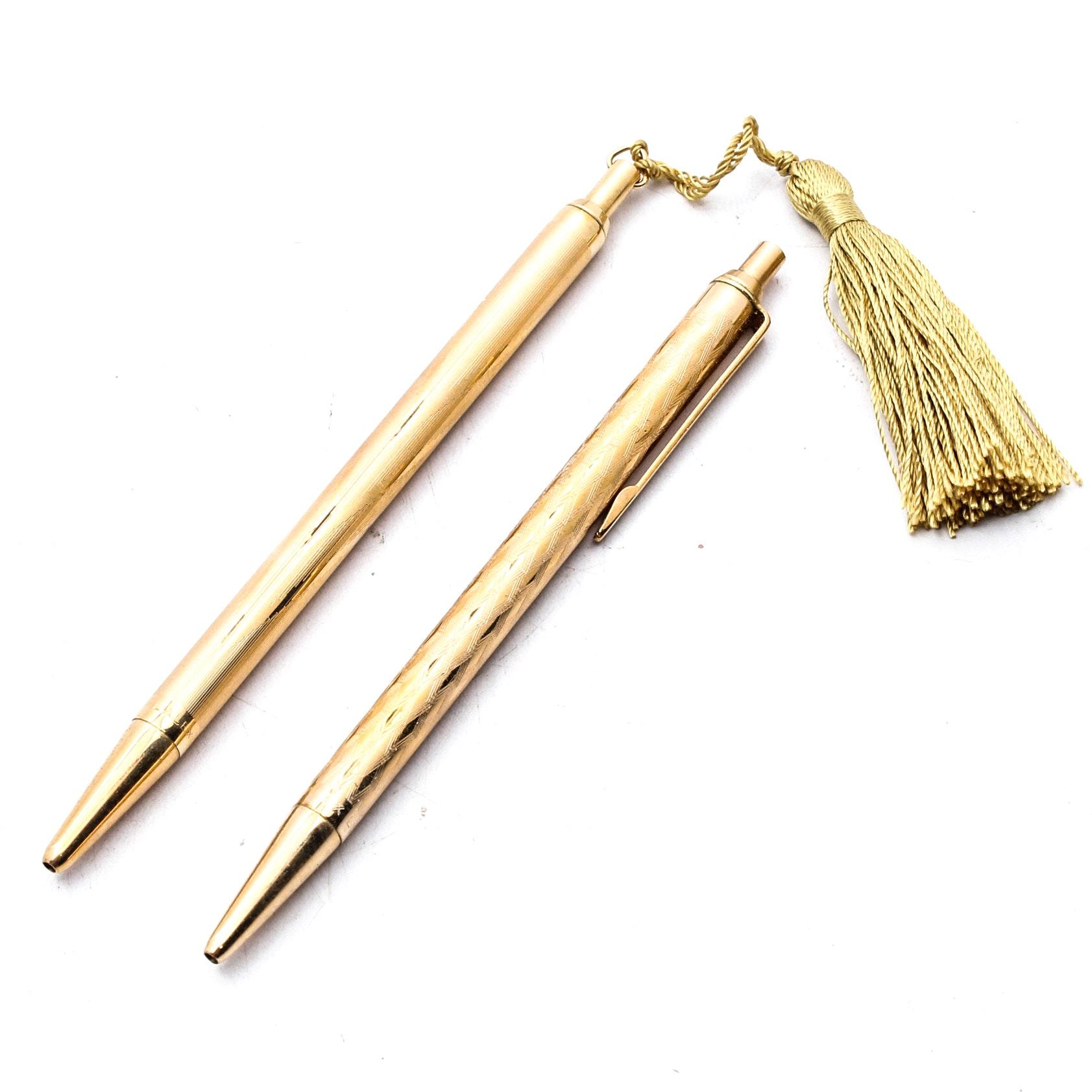 Lalex Gold Filled Pens