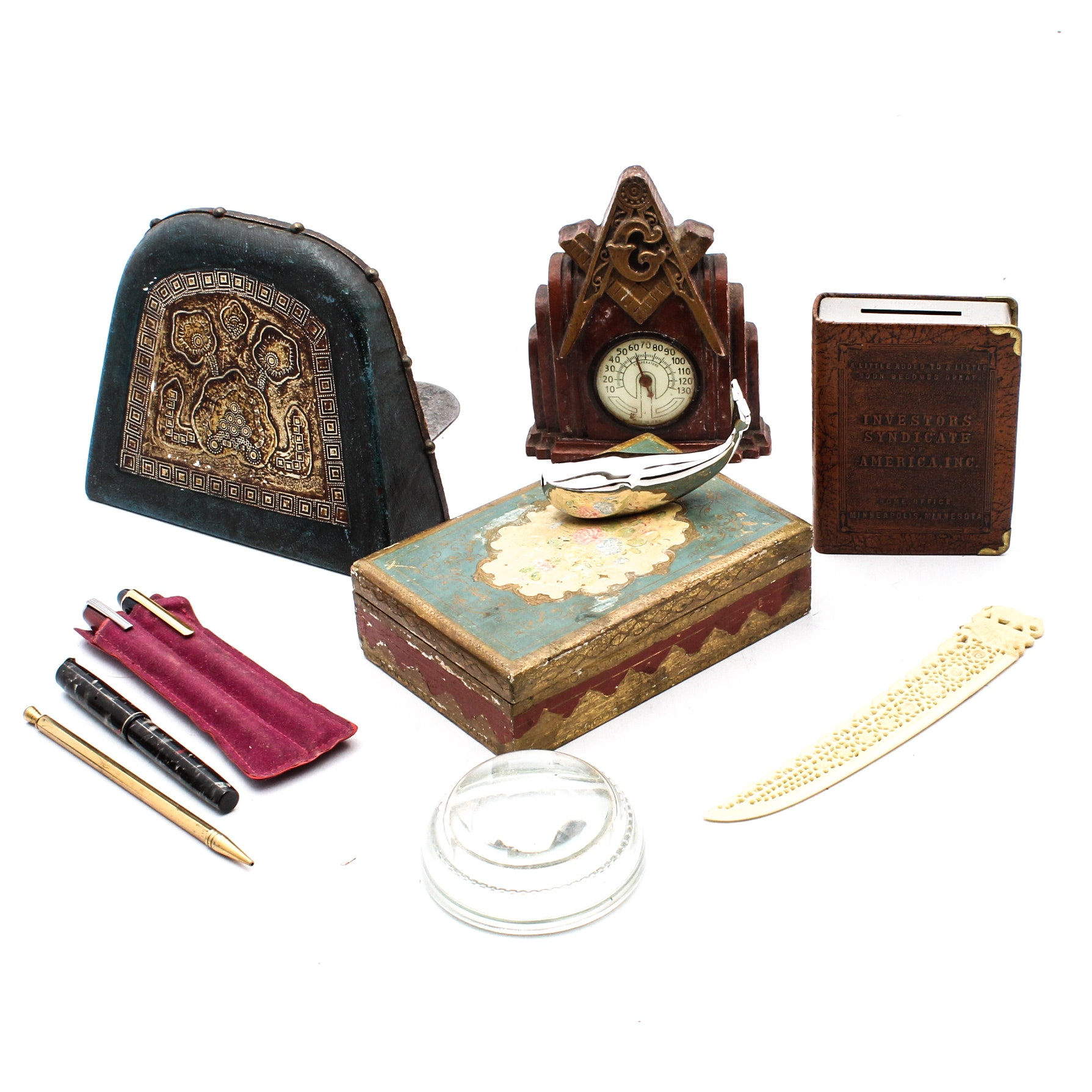 Desk Accessories with Cambridge and Esterbrook Pens