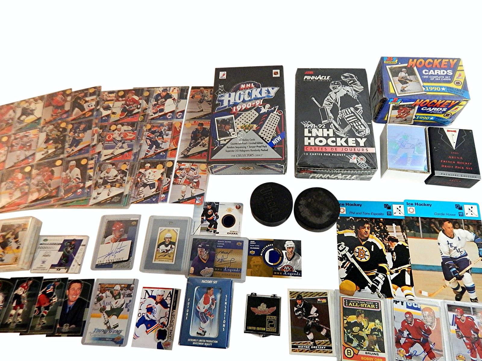 Large Hockey Card and Collectibles Collection