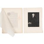 White House Gallery Photogravure and Biography of Martin Van Buren