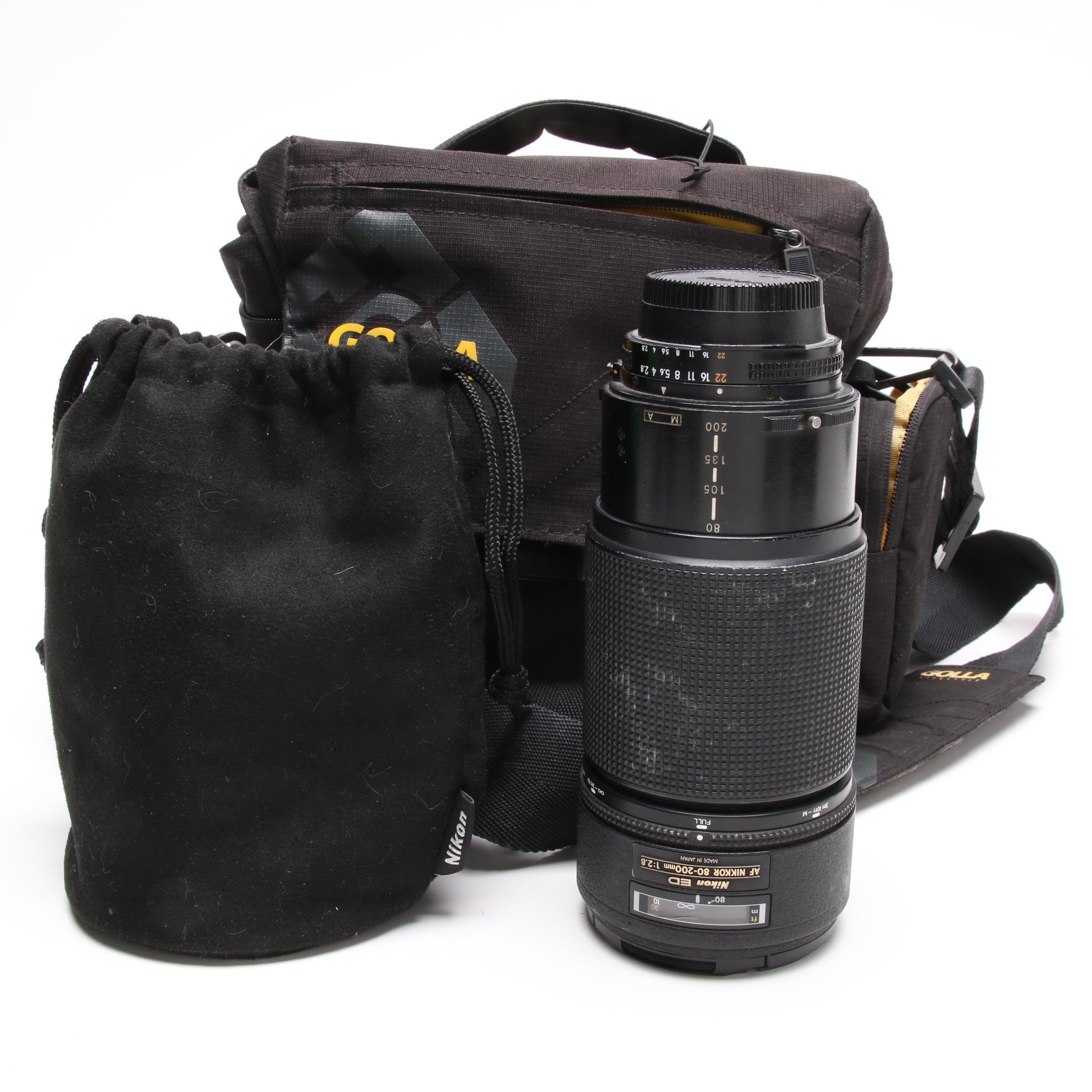 Nikon ED AF Nikkor 80-200mm Macro Lens