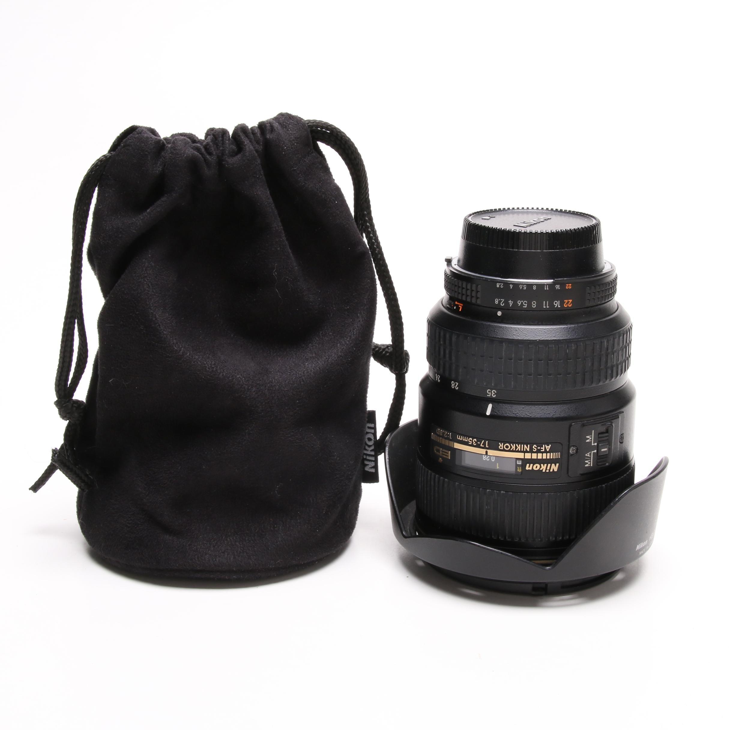 Nikon Nikkor AF-S 17-35mm f/2.8 ED Lens