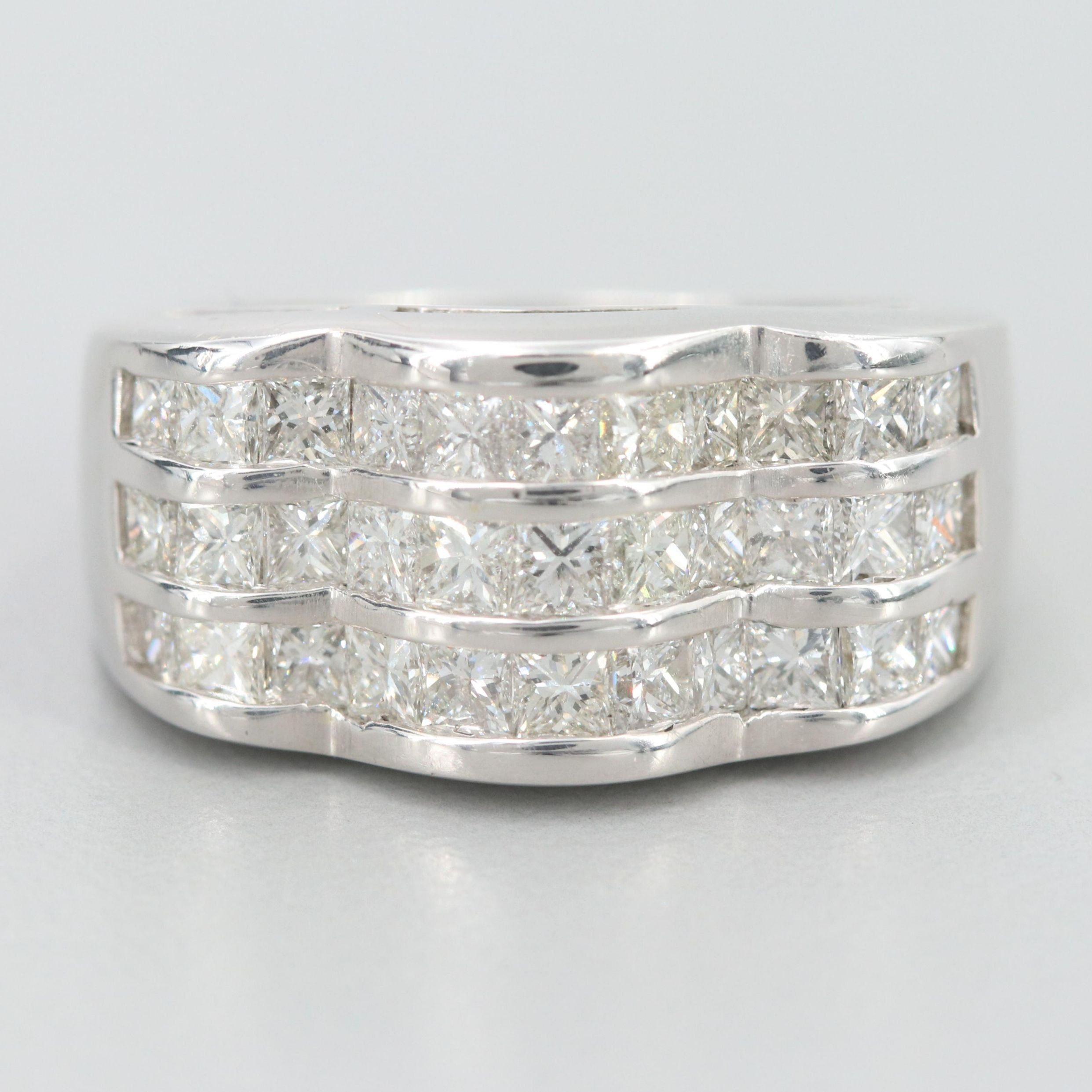18K White Gold 2.05 CTW Diamond Ring