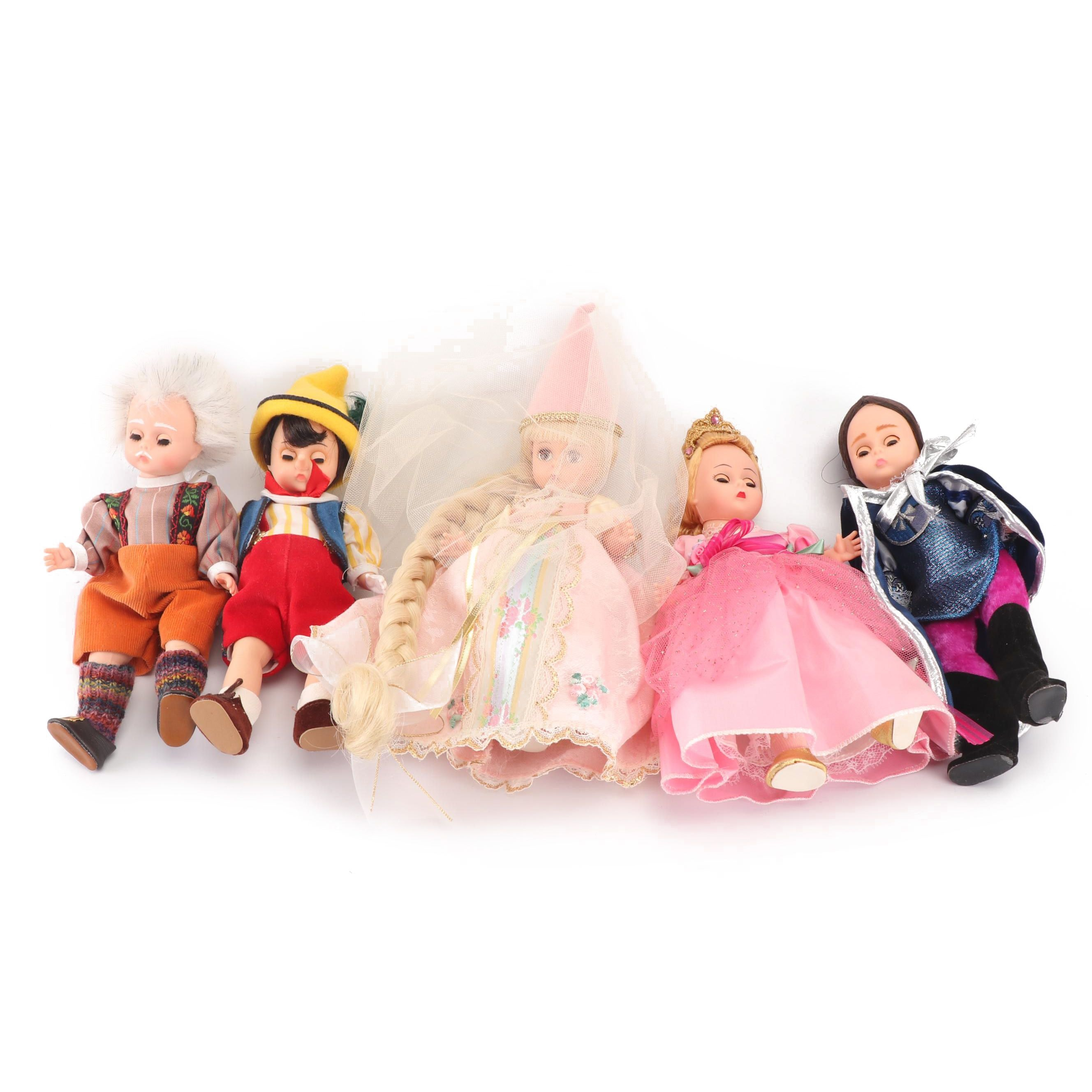 "Madame Alexander Dolls Including ""Cinderella"" and ""Prince Charming"""