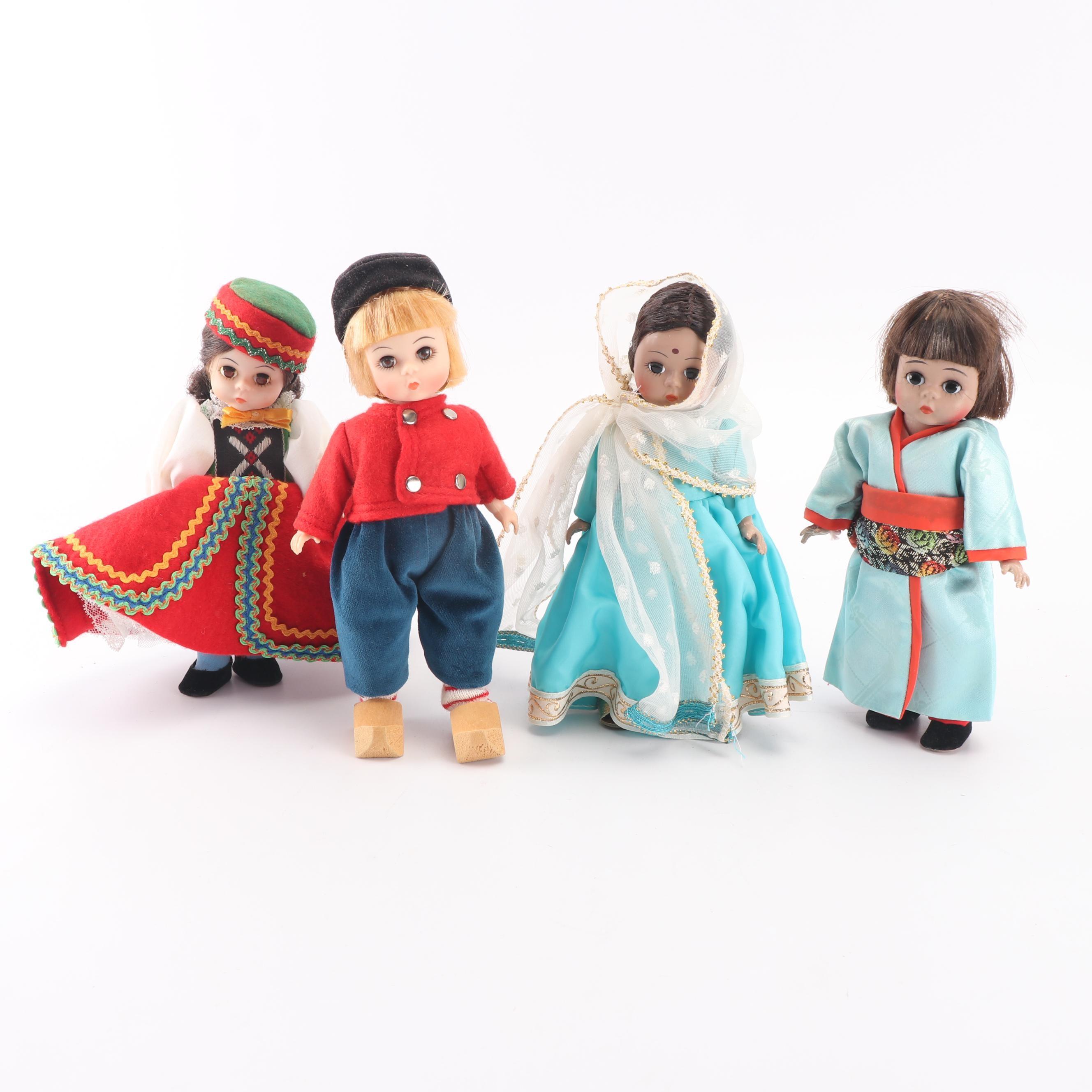 """Madame Alexander Dolls Including """"Netherlands Boy"""""""