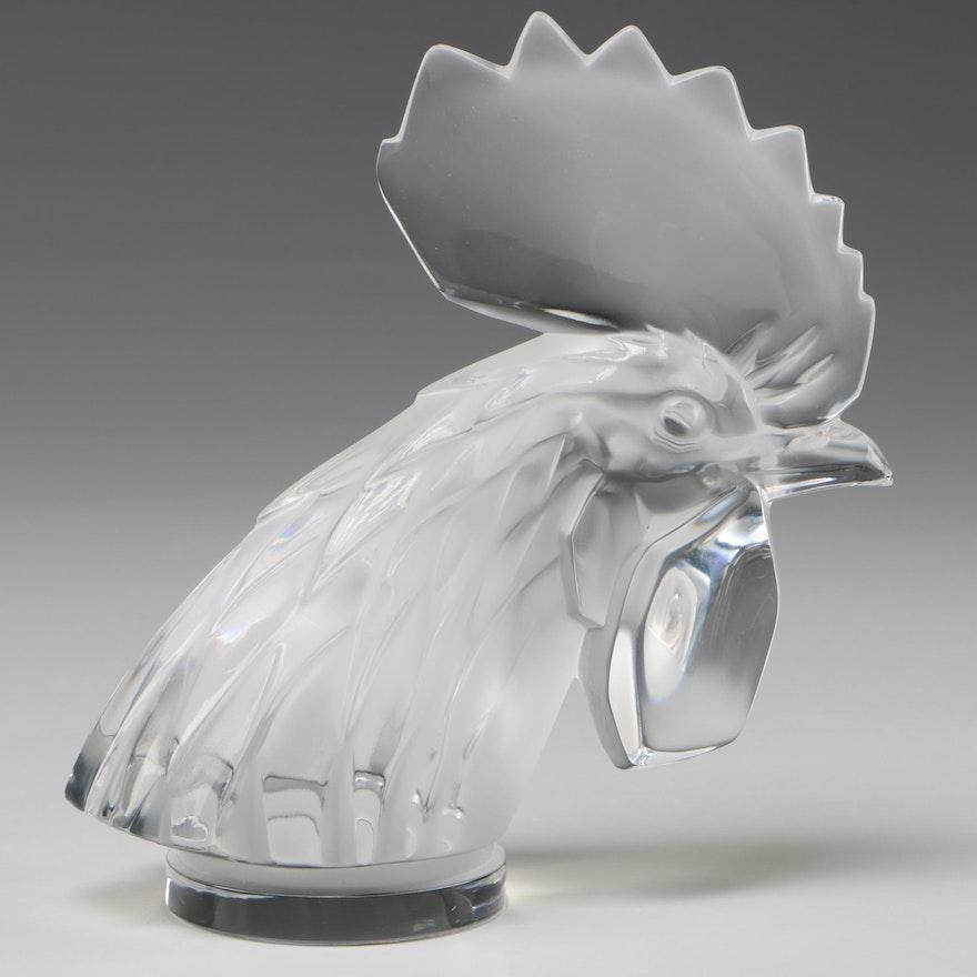 """Lalique """"Tête de coq"""" Car Mascot"""