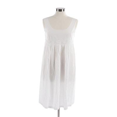 9699b2cf1927 Marni Sleeveless White Dress