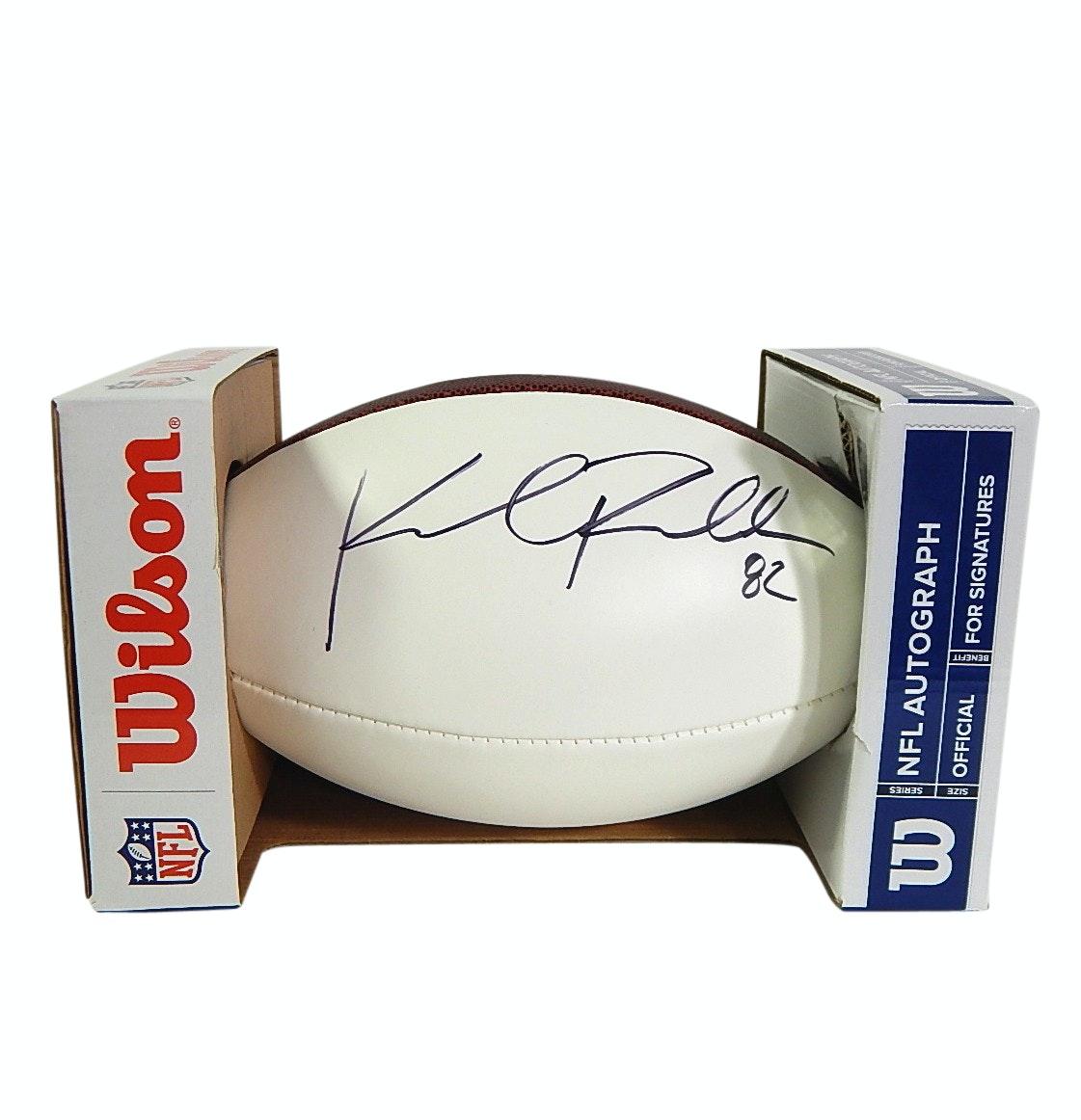 Kyle Rudolph Minnesota Vikings Signed NFL Official Wilson Football