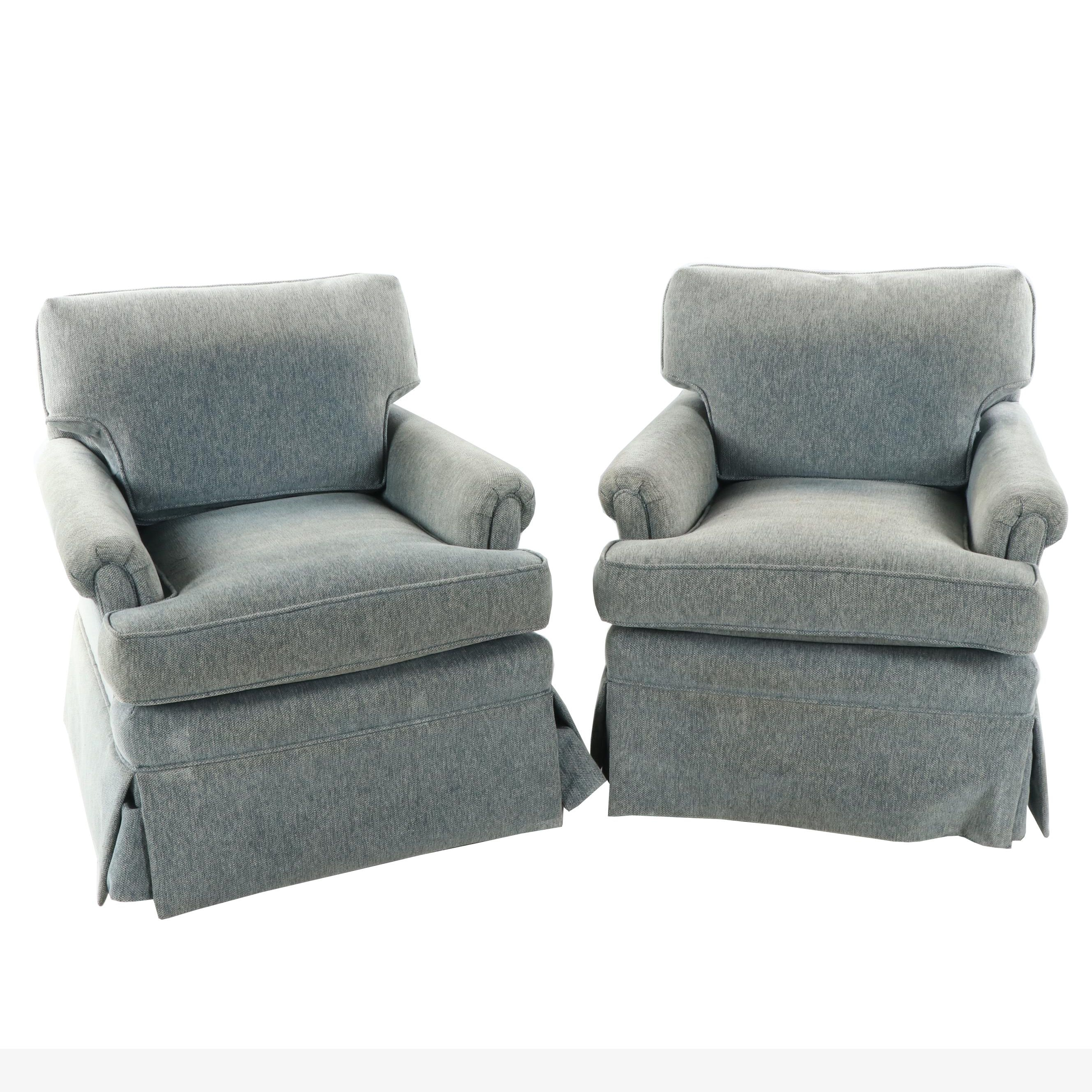 Upholstered Armchairs, 21st Century
