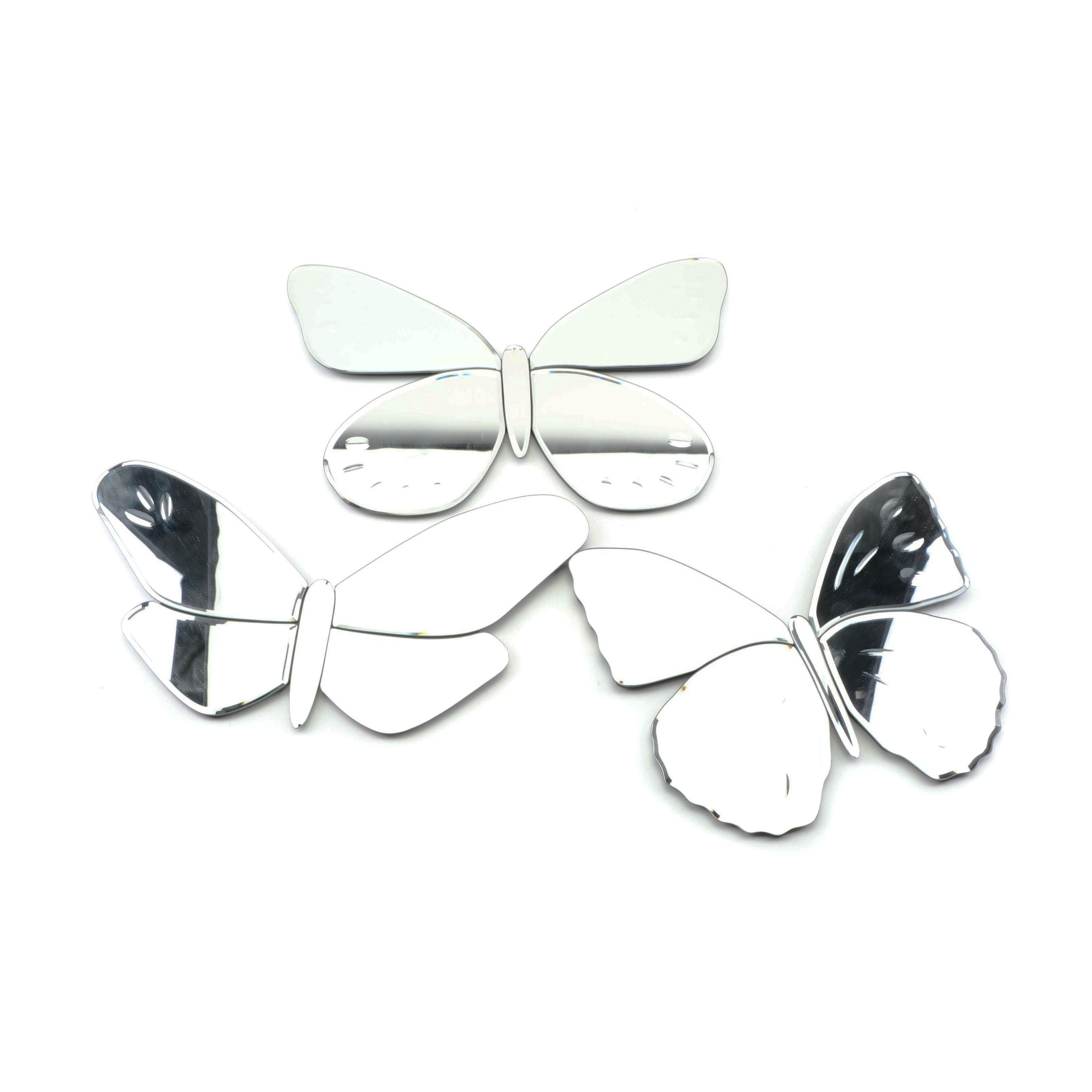 Pottery Barn Kids Butterfly Beveled Wall Mirrors