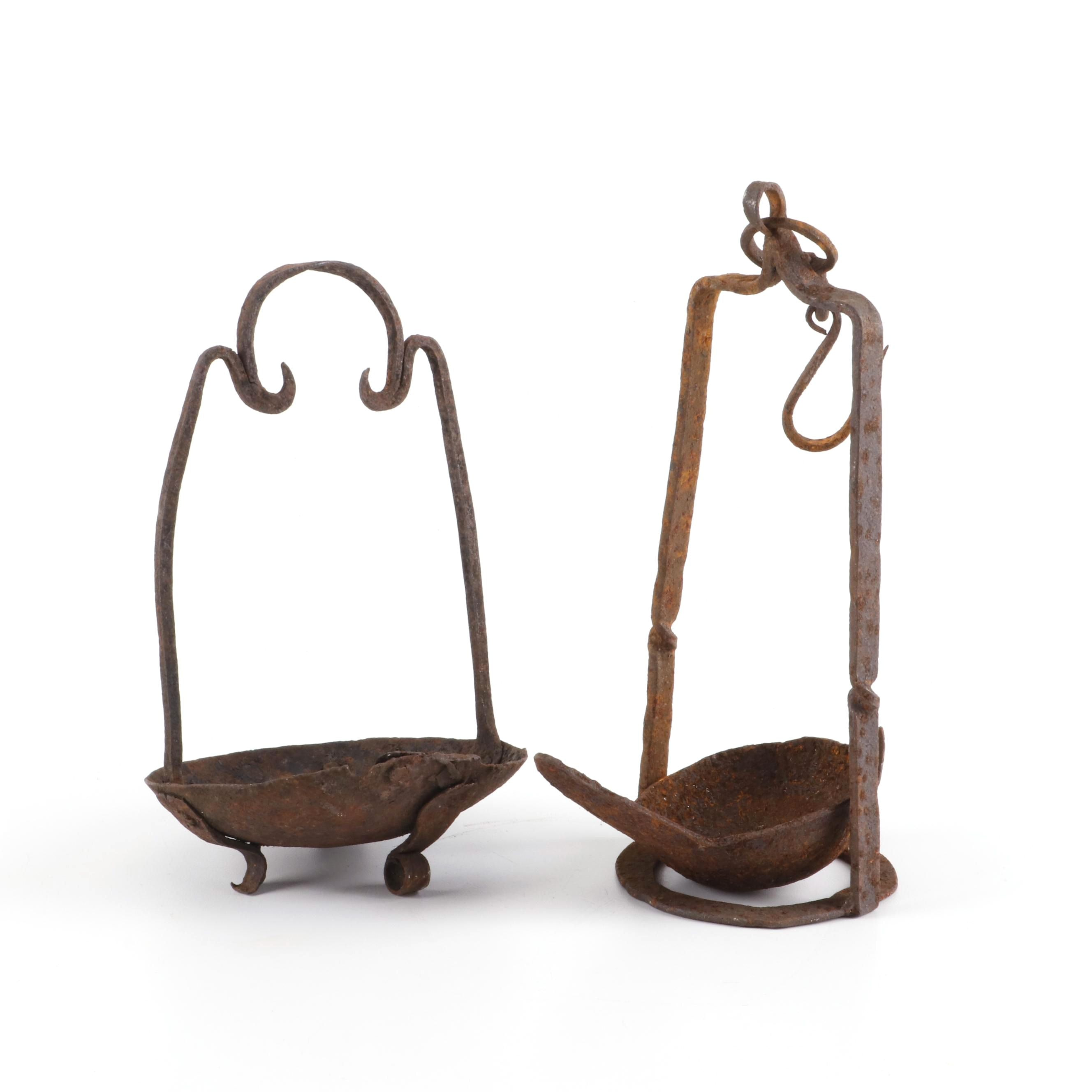 Iron Butterfat Lamps