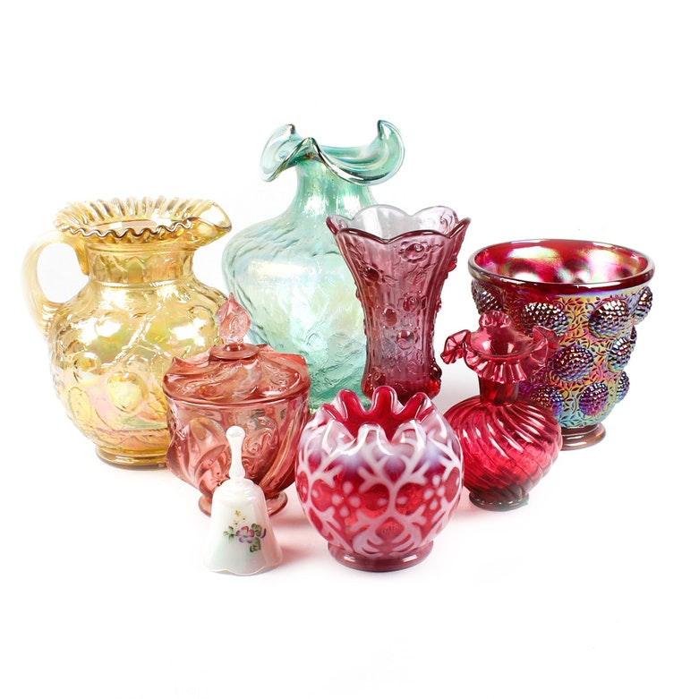 Vintage Fenton Glassware