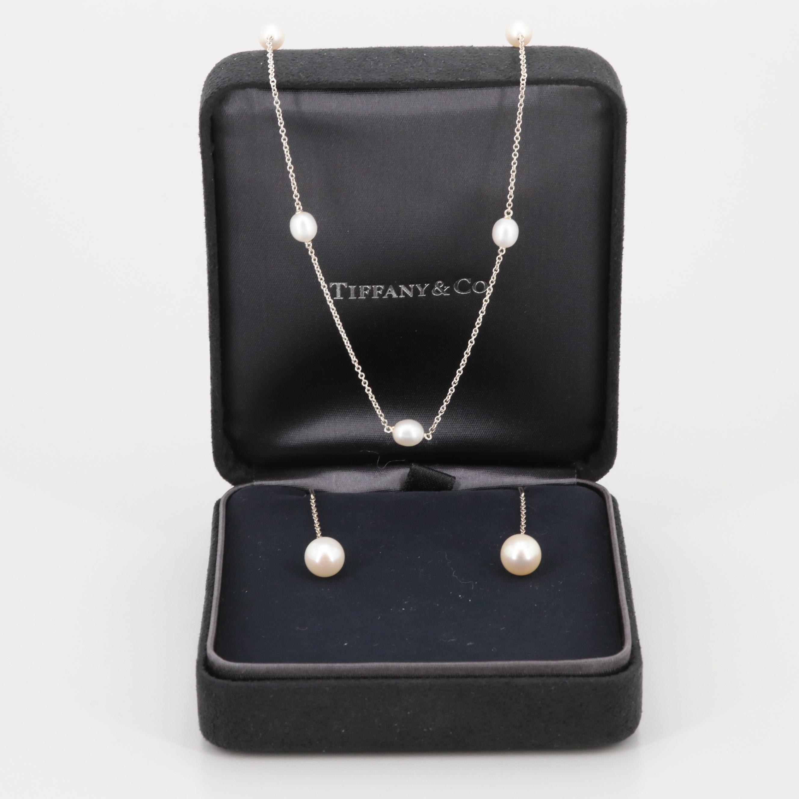 Elsa Peretti for Tiffany & Co. Sterling Silver Cultured Pearl Jewelry